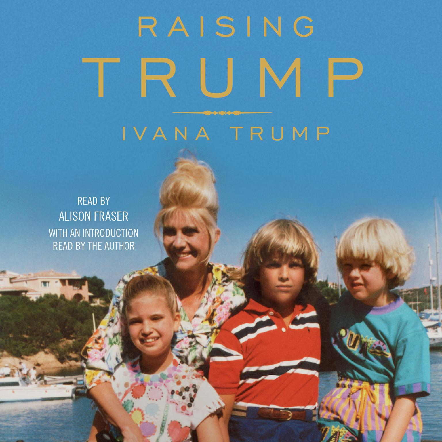 Printable Raising Trump Audiobook Cover Art