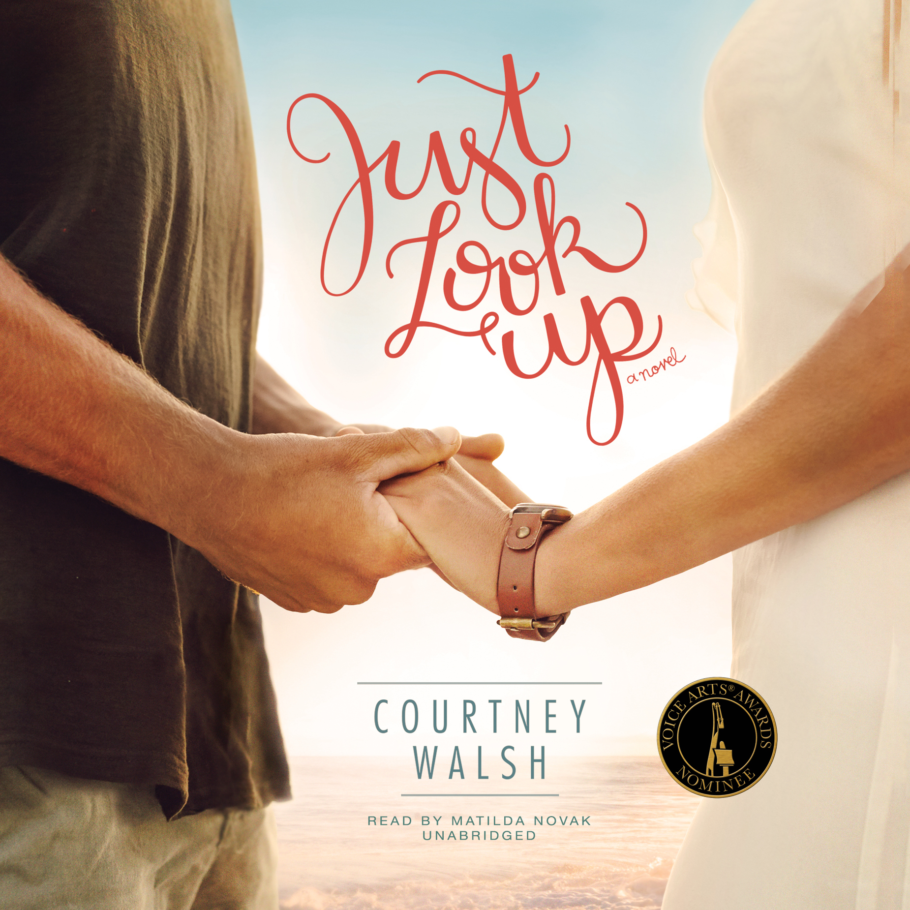 Printable Just Look Up  Audiobook Cover Art