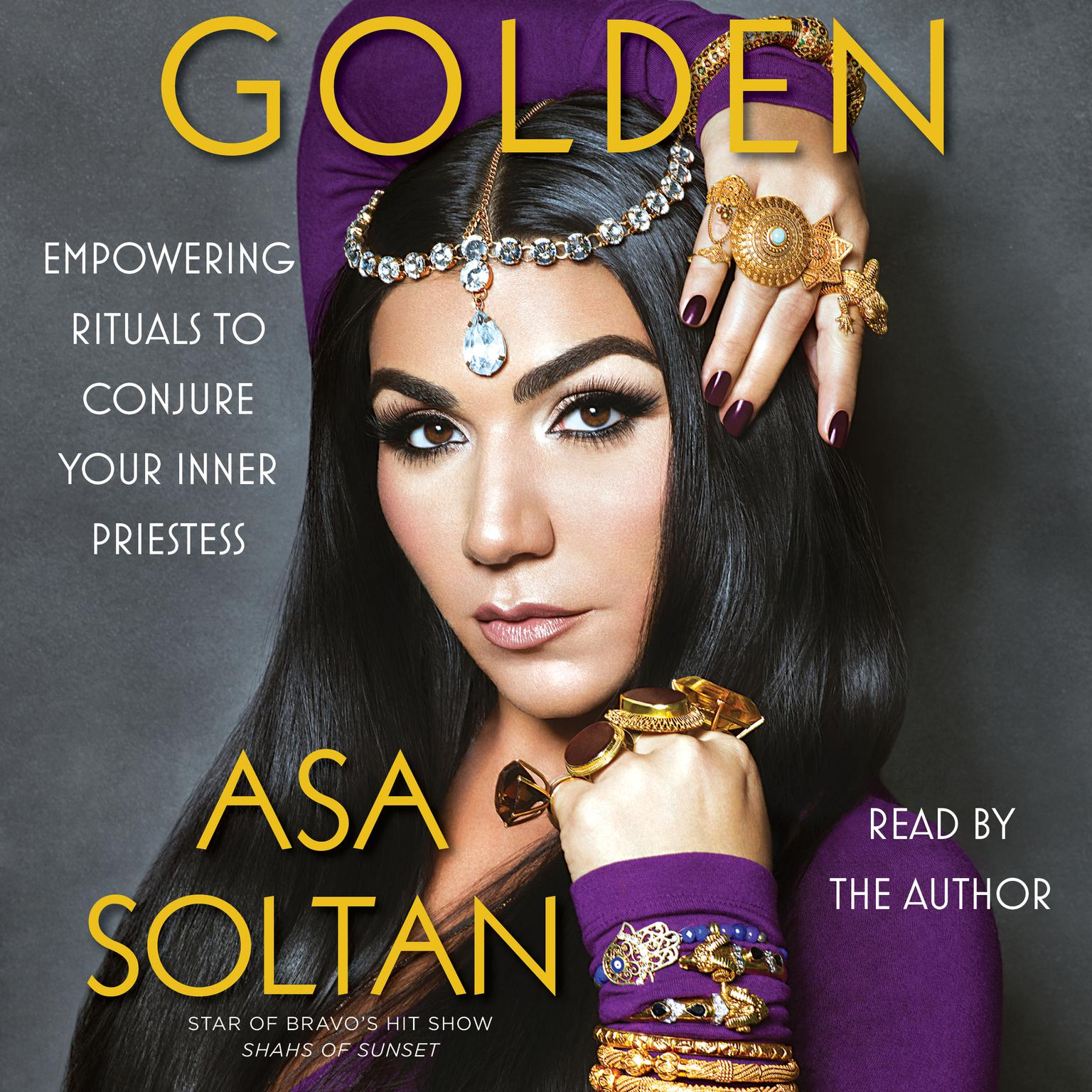 Printable Golden: Empowering Rituals to Conjure Your Inner Priestess Audiobook Cover Art
