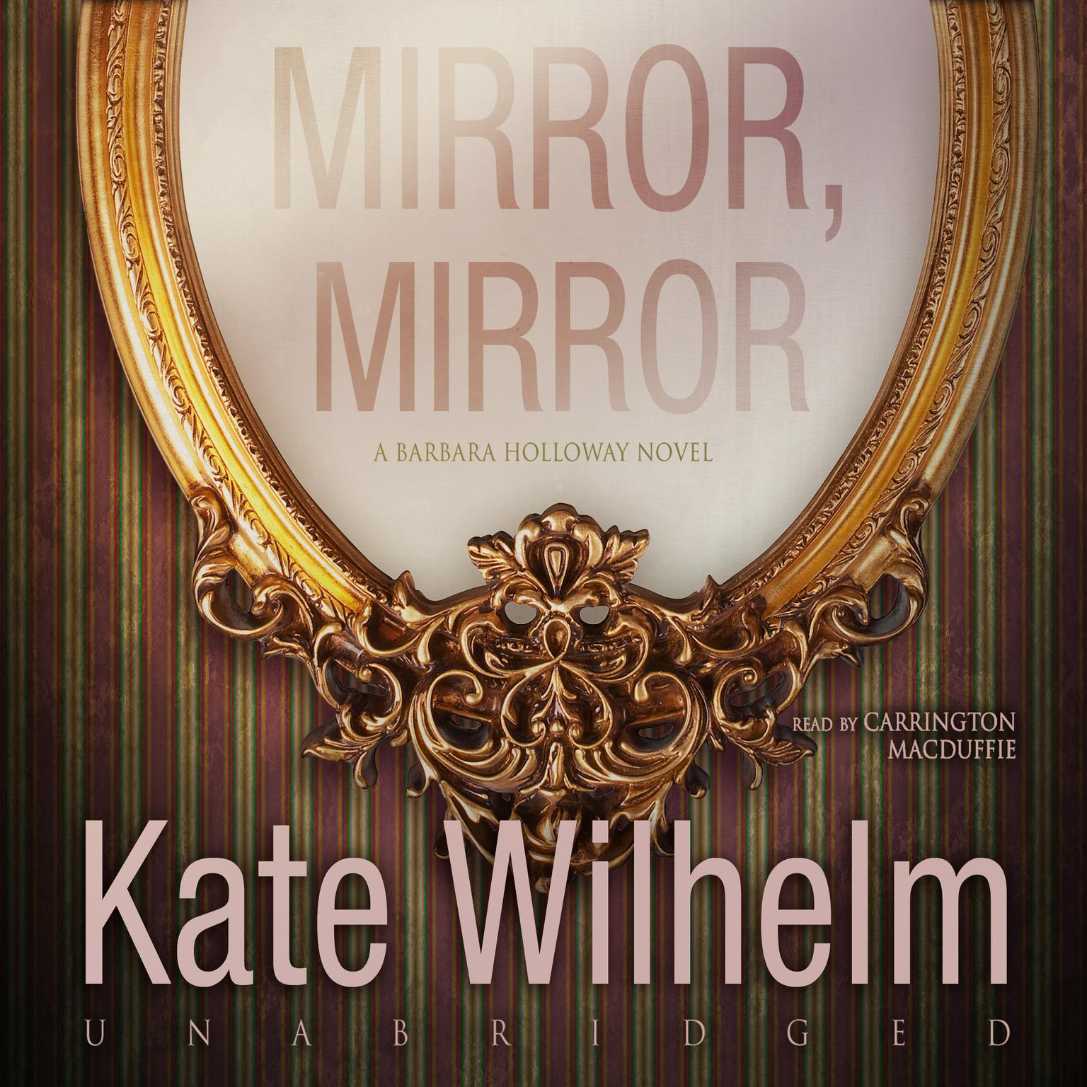 Printable Mirror, Mirror  Audiobook Cover Art