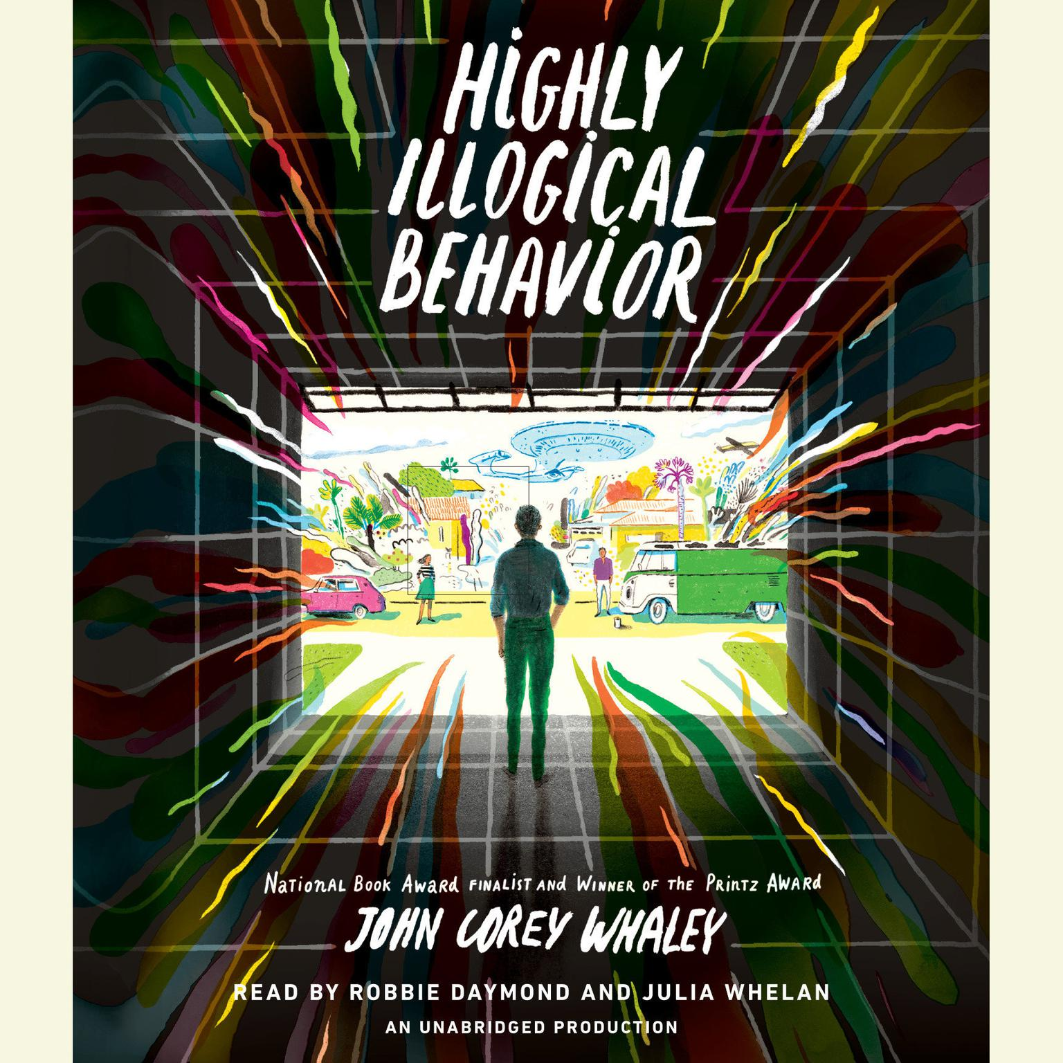 Printable Highly Illogical Behavior Audiobook Cover Art