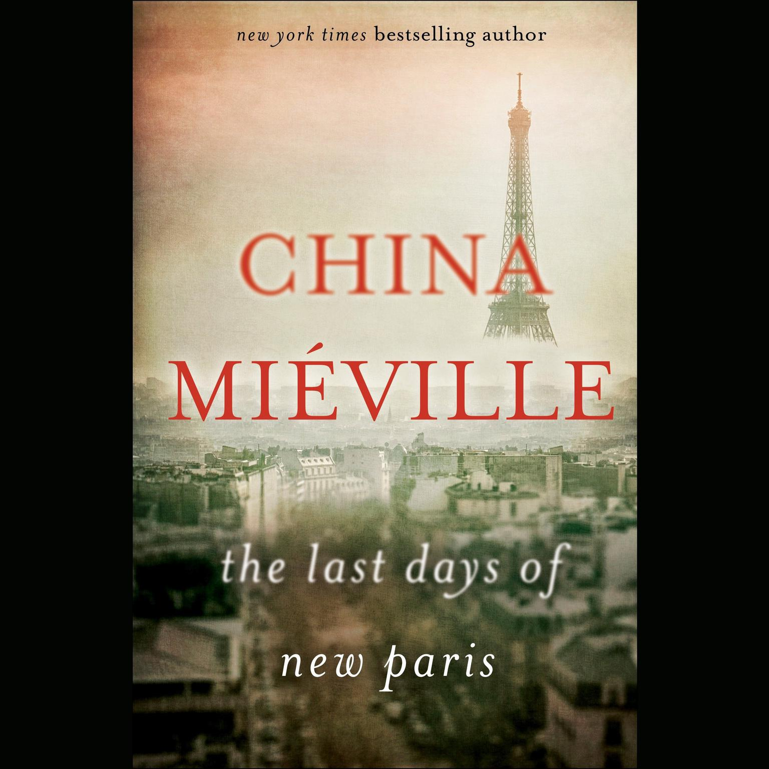 Printable The Last Days of New Paris Audiobook Cover Art