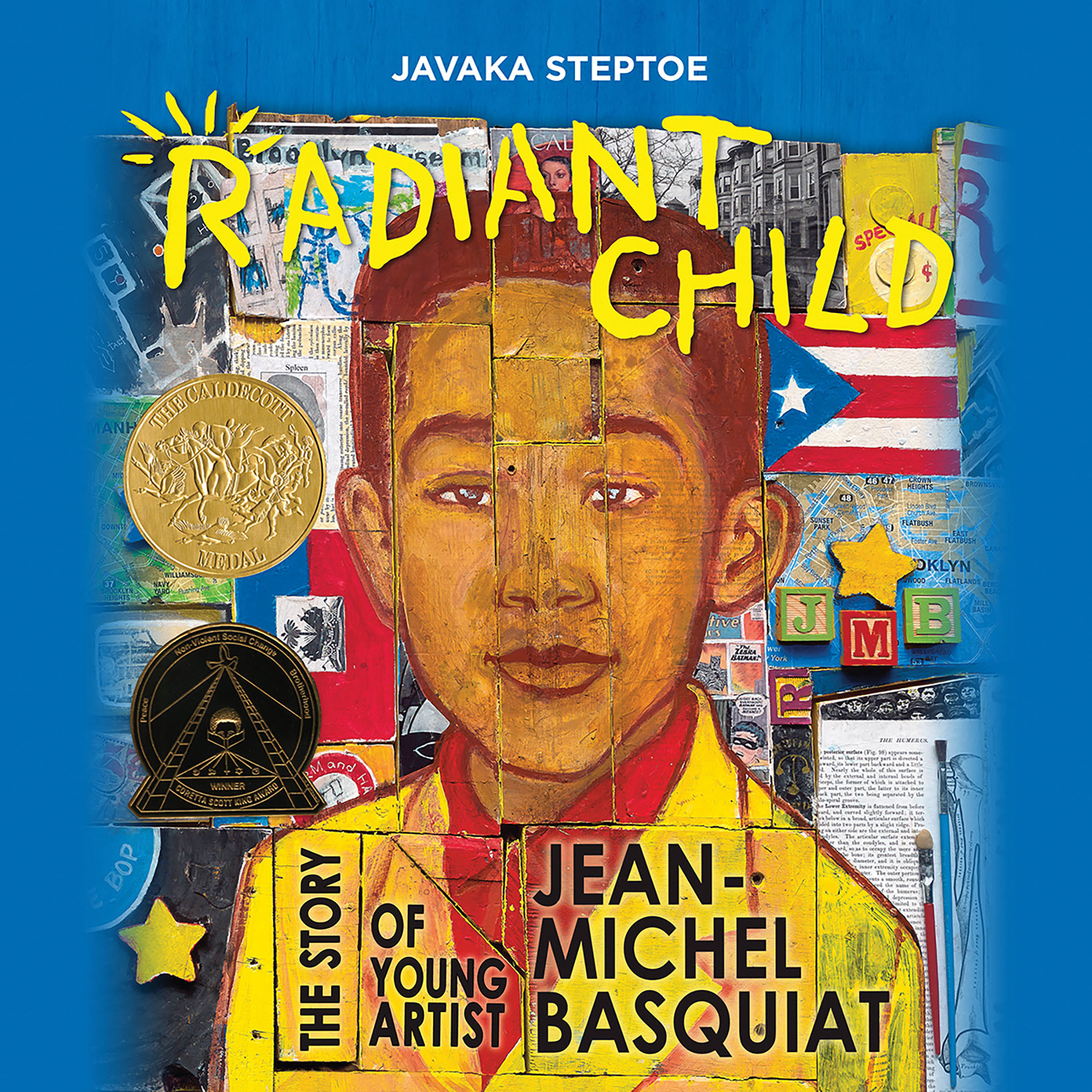 Printable Radiant Child: The Story of Young Artist Jean-Michel Basquiat Audiobook Cover Art