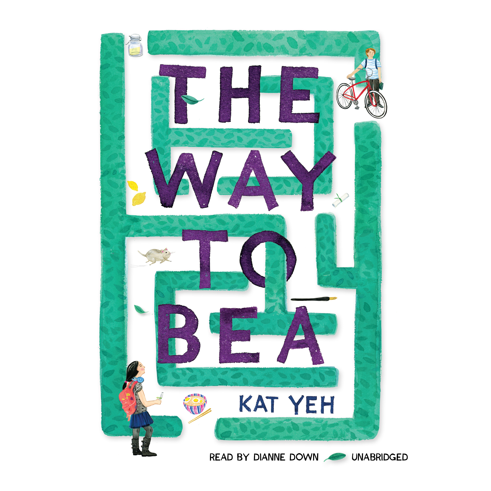 Printable The Way to Bea Audiobook Cover Art