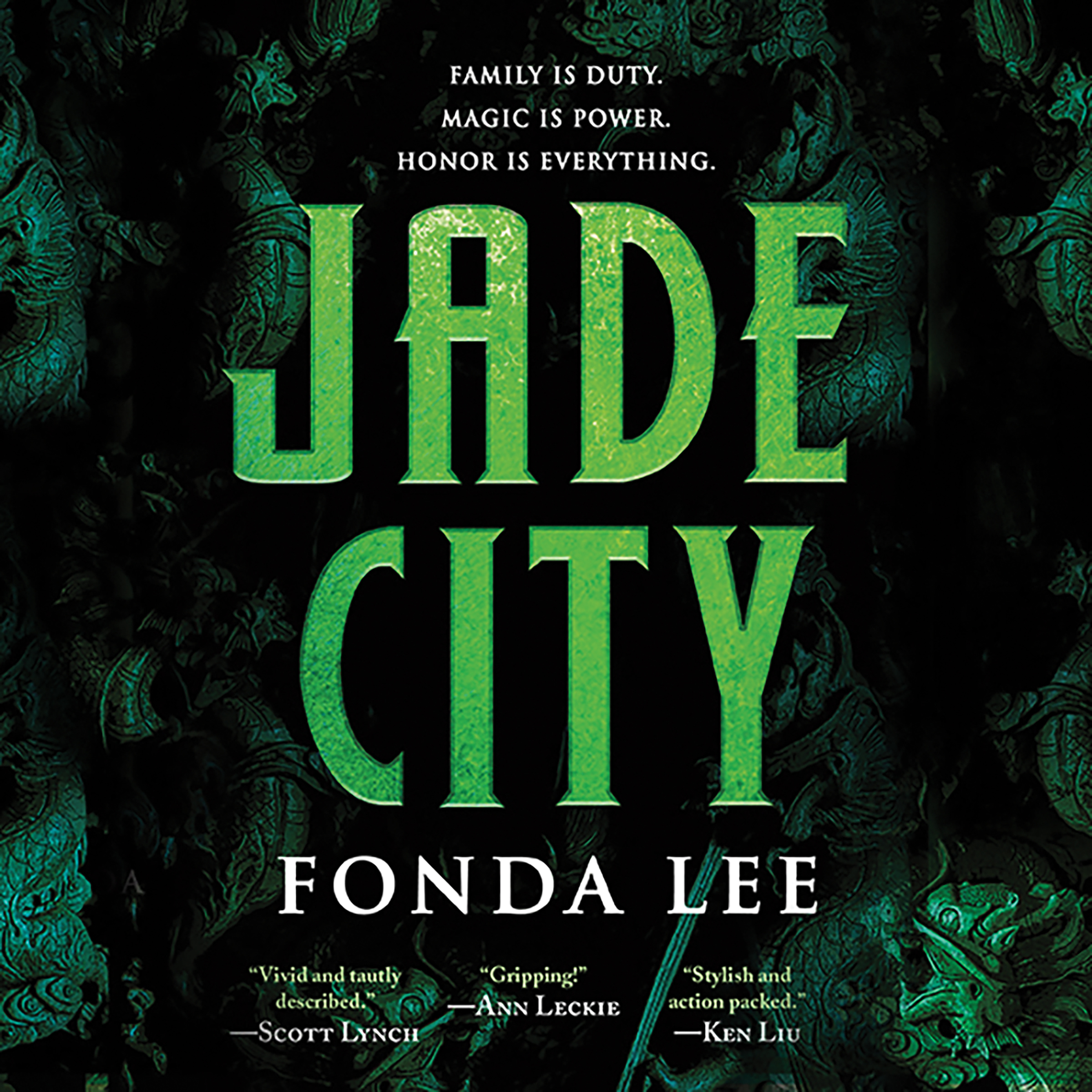 Printable Jade City Audiobook Cover Art