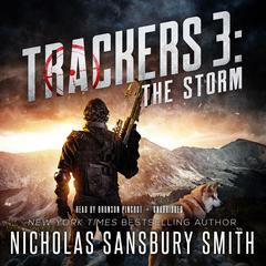 Trackers 3: The Storm Audiobook, by Nicholas Sansbury Smith