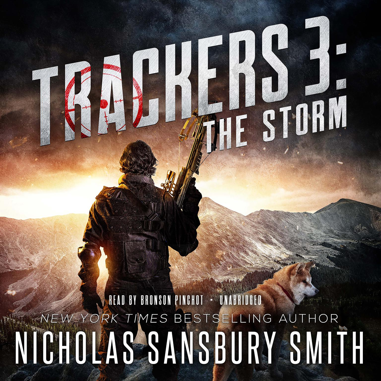 Printable Trackers 3: The Storm Audiobook Cover Art