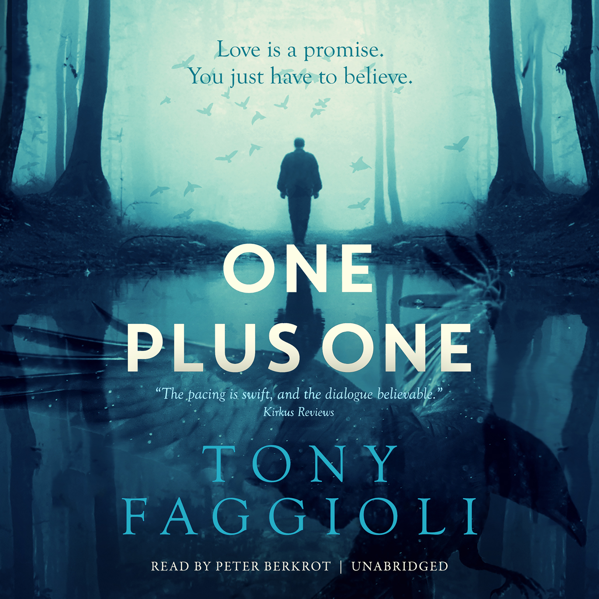 Printable One Plus One Audiobook Cover Art