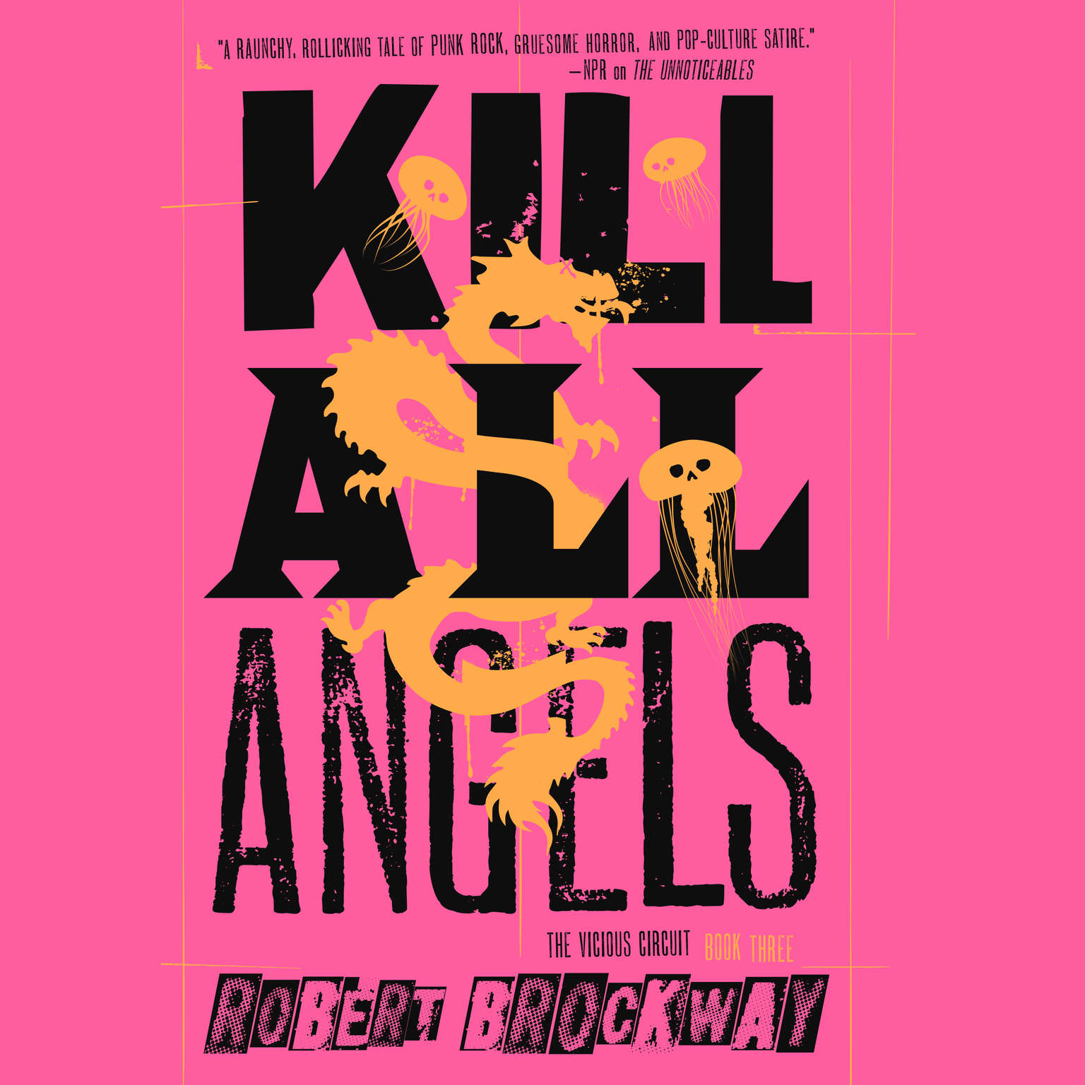 Printable Kill All Angels Audiobook Cover Art