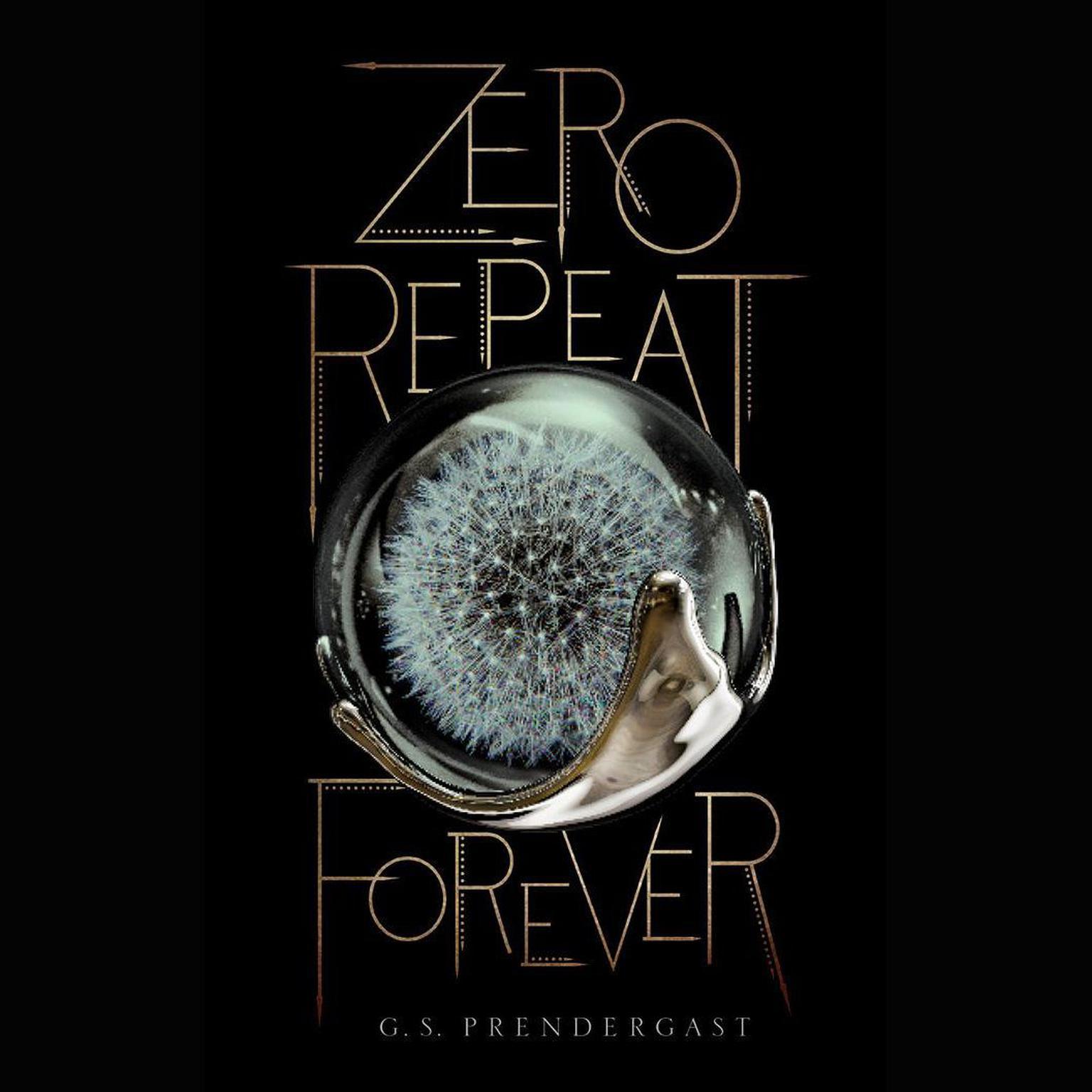 Printable Zero Repeat Forever Audiobook Cover Art