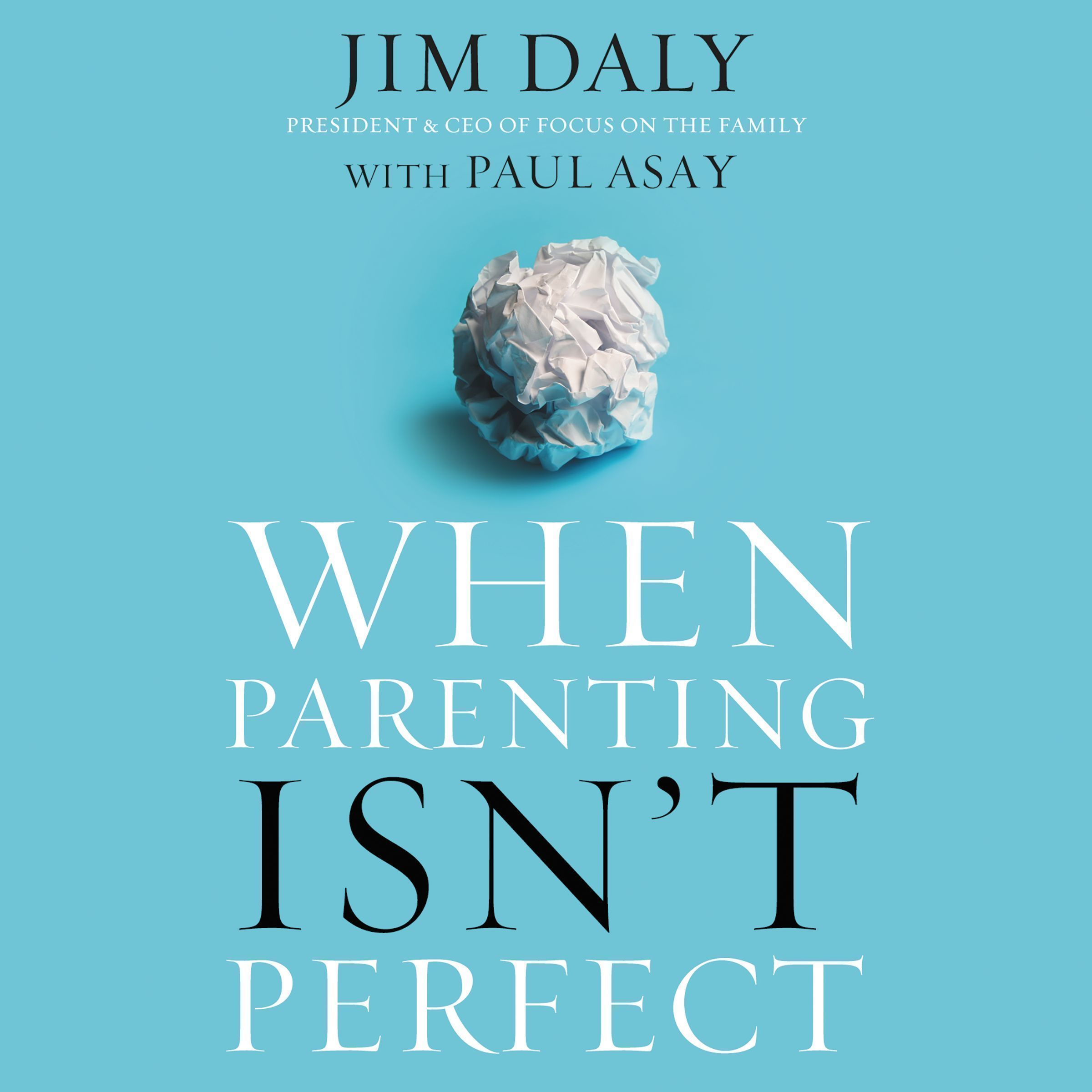 Printable When Parenting Isn't Perfect Audiobook Cover Art