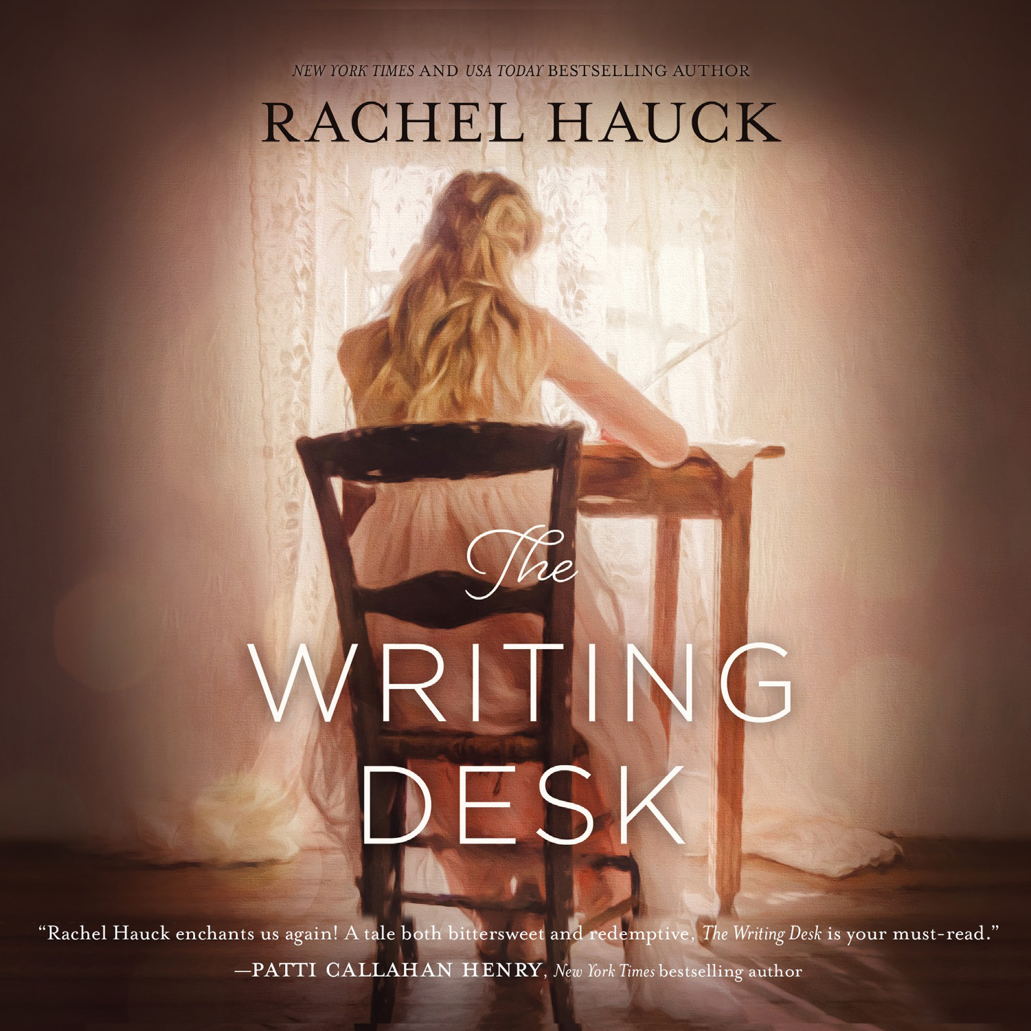 Printable The Writing Desk Audiobook Cover Art