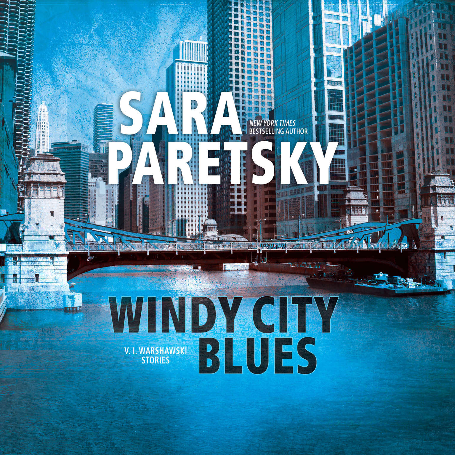 Printable Windy City Blues: V.I. Warshawski Stories Audiobook Cover Art