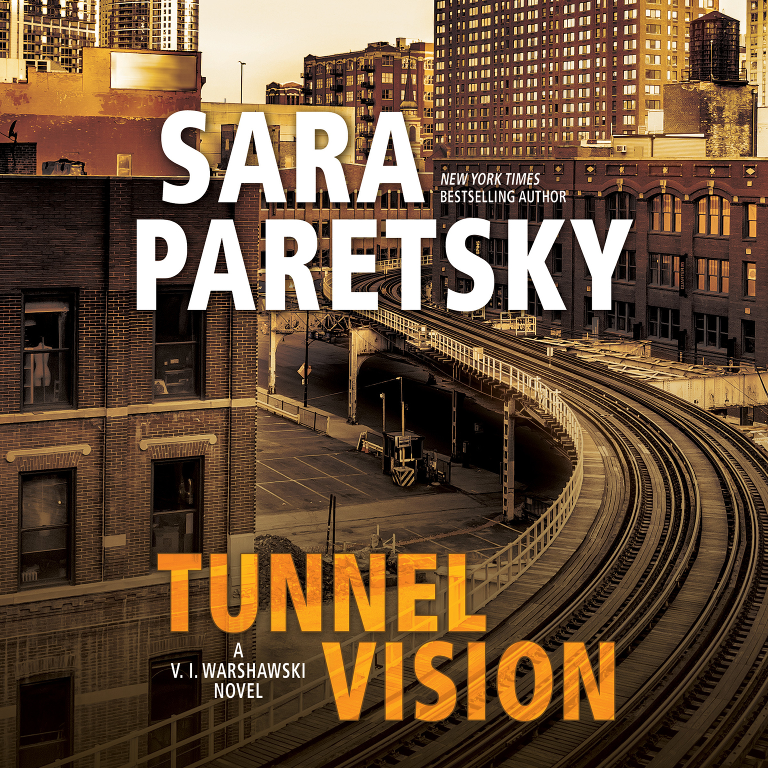 Printable Tunnel Vision Audiobook Cover Art