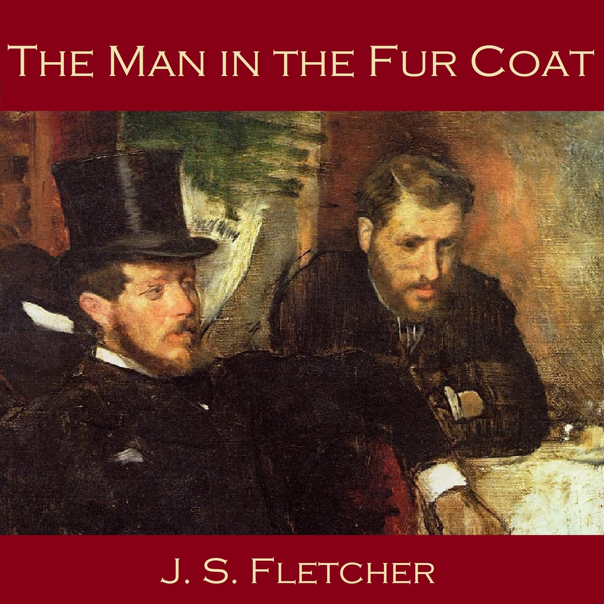 Printable The Man in the Fur Coat Audiobook Cover Art
