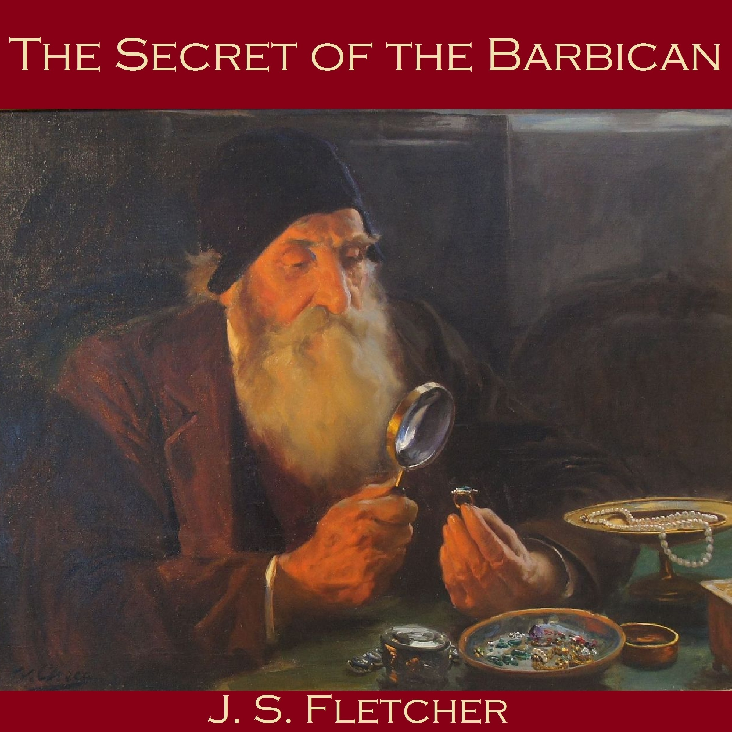 Printable The Secret of the Barbican Audiobook Cover Art