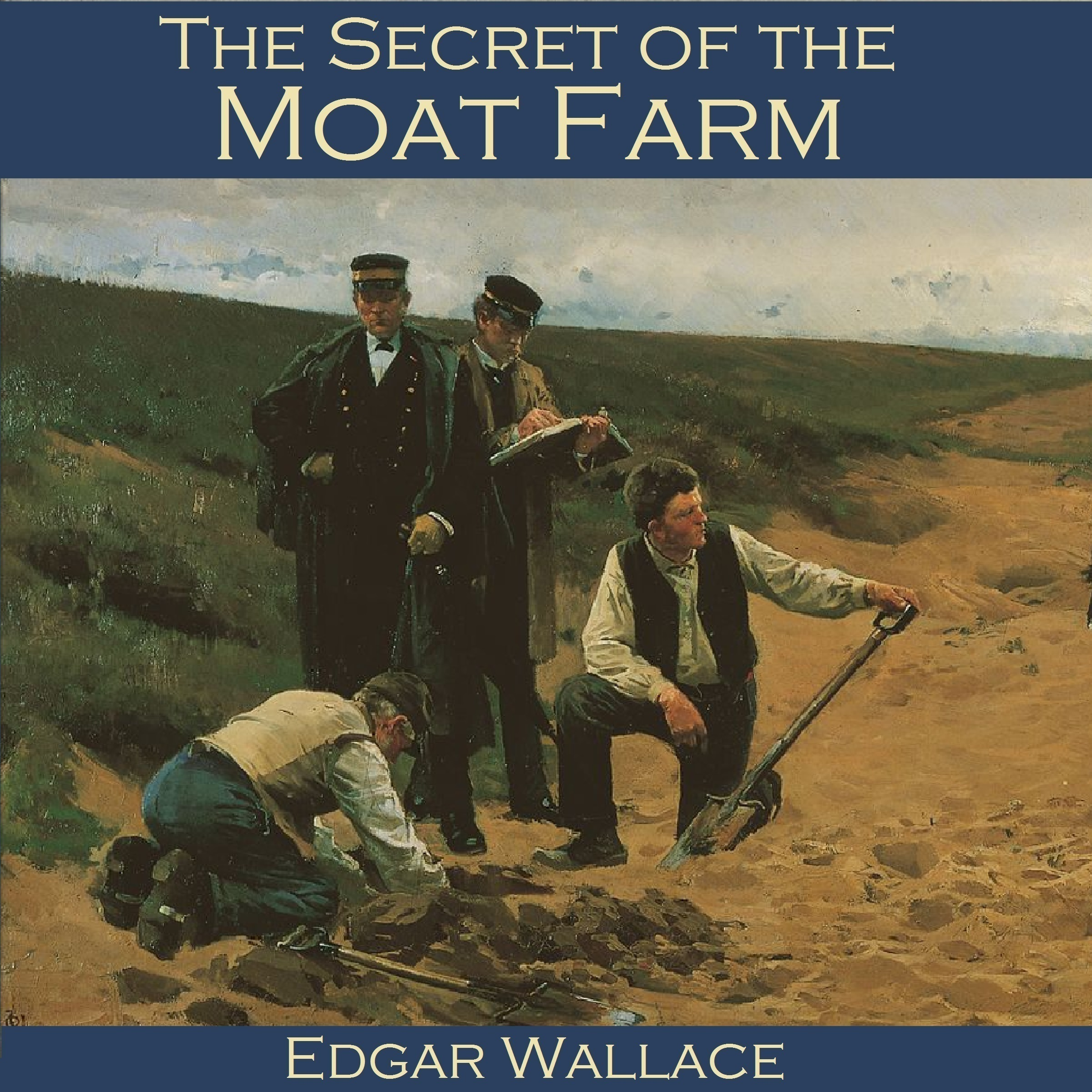 Printable The Secret of the Moat Farm Audiobook Cover Art