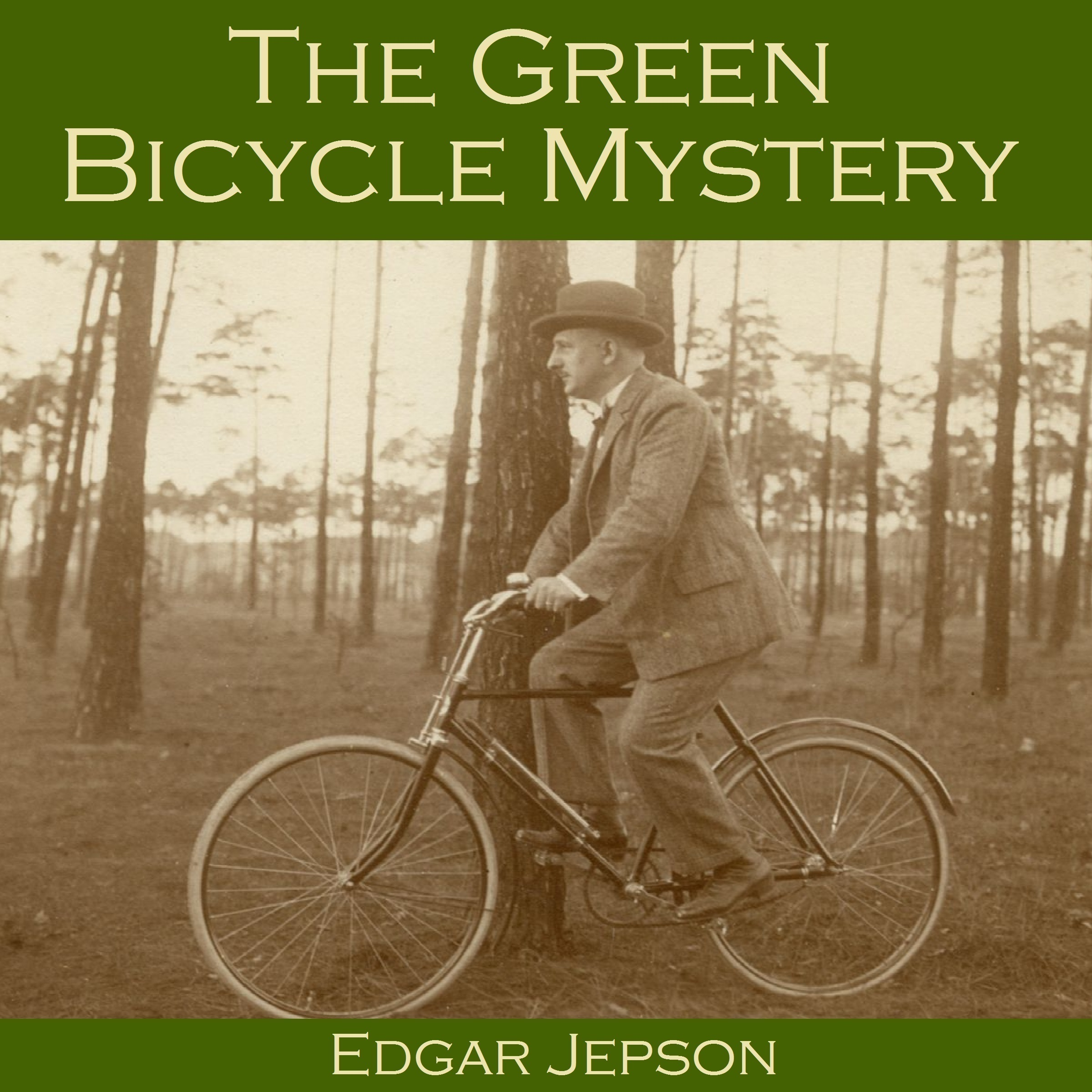 Printable The Green Bicycle Mystery Audiobook Cover Art