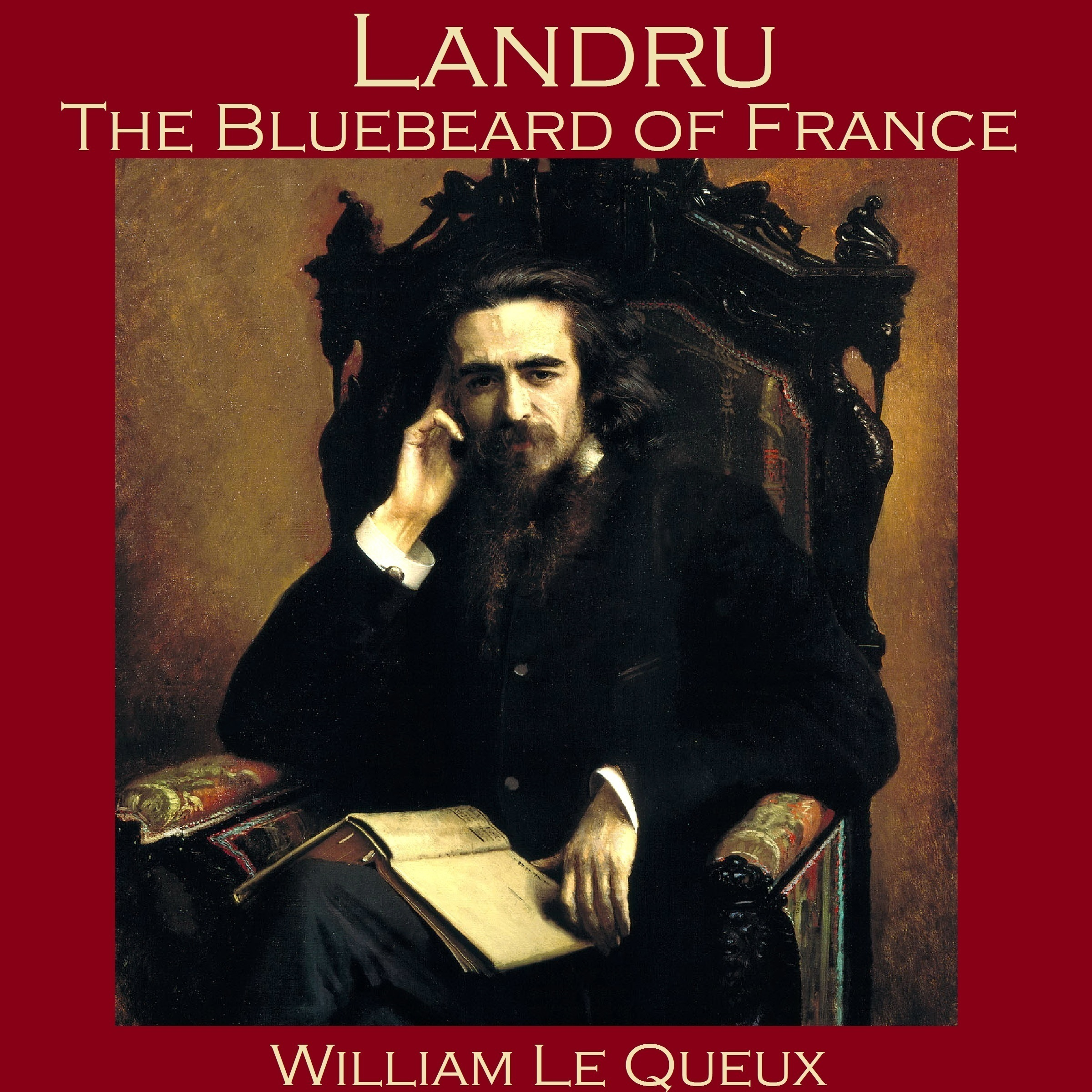 Printable Landru, the Bluebeard of France Audiobook Cover Art