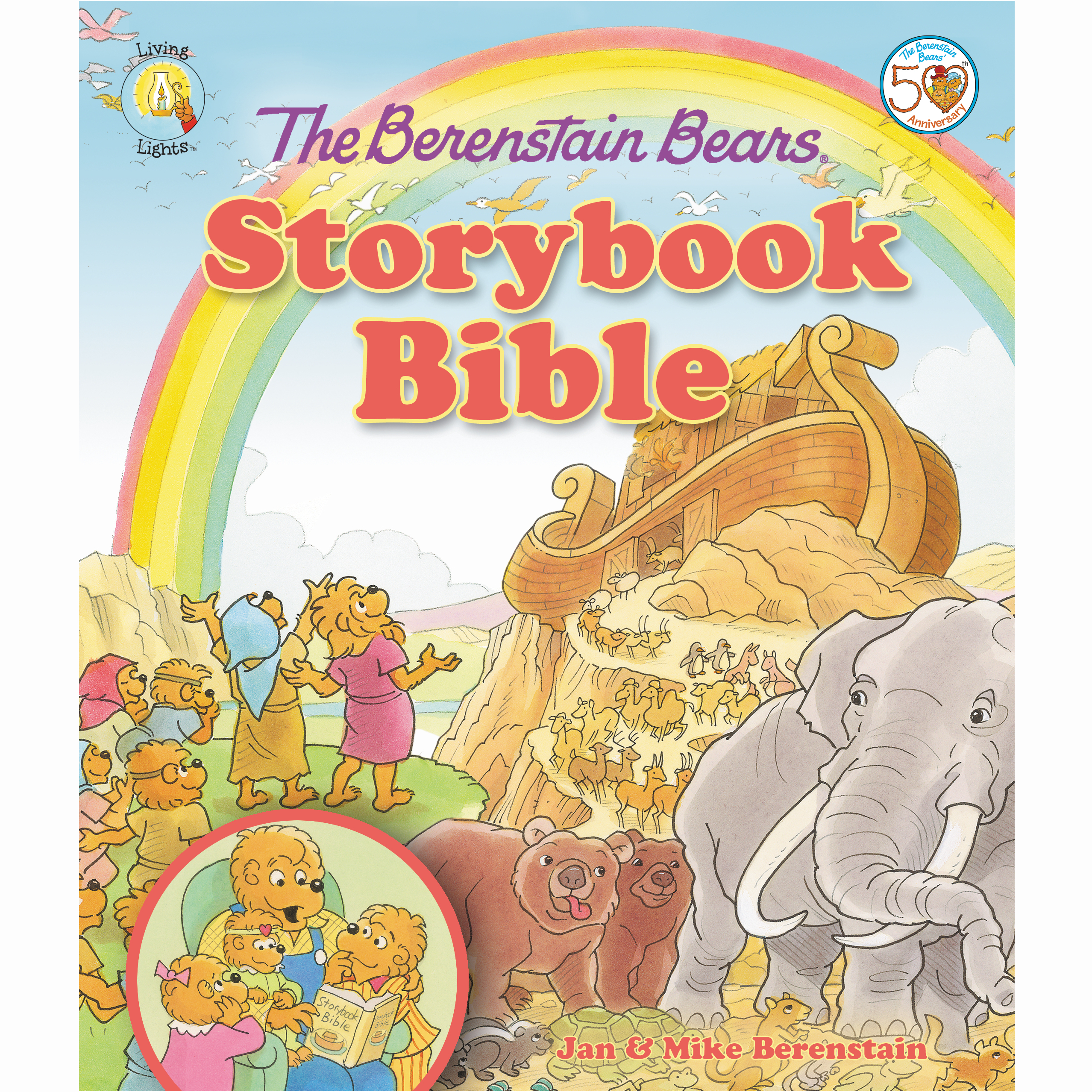 Printable The Berenstain Bears Storybook Bible Audiobook Cover Art