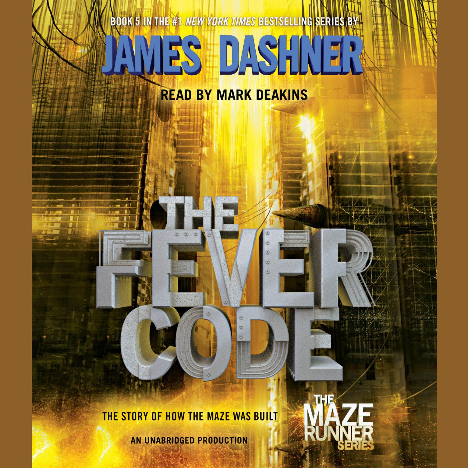 Printable The Fever Code Audiobook Cover Art