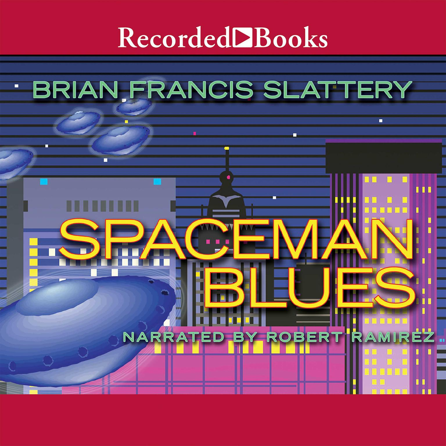 Printable Spaceman Blues: A Love Song Audiobook Cover Art