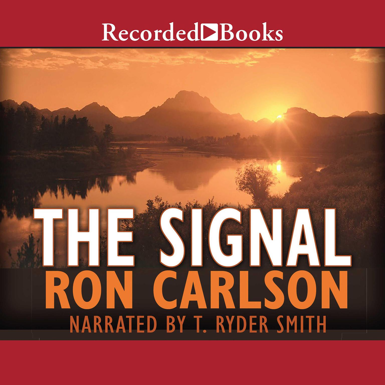 Printable The Signal: A Novel Audiobook Cover Art