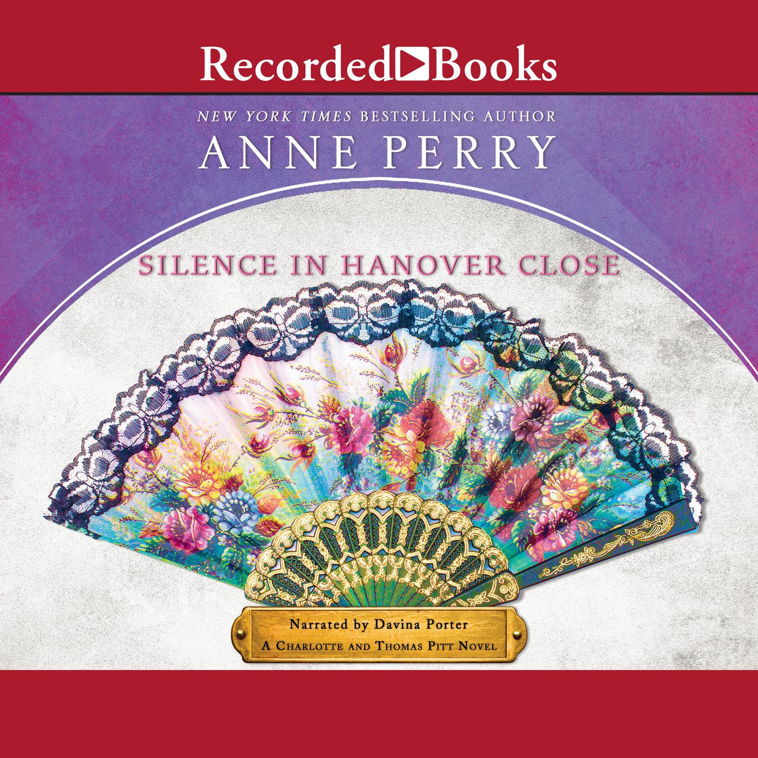 Printable Silence in Hanover Close Audiobook Cover Art