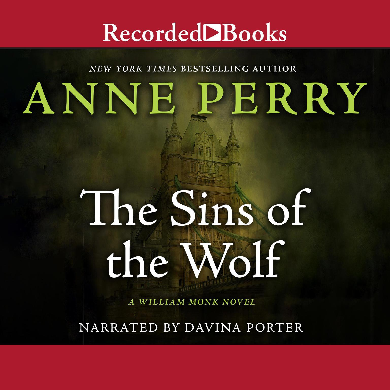 Printable The Sins of the Wolf Audiobook Cover Art