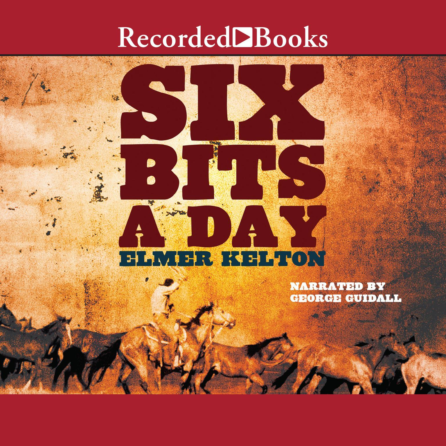 Printable Six Bits a Day Audiobook Cover Art