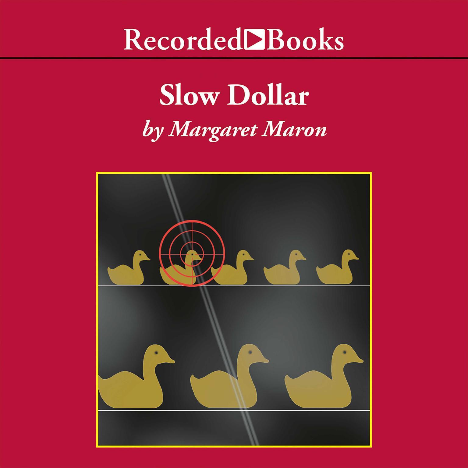 Printable Slow Dollar Audiobook Cover Art