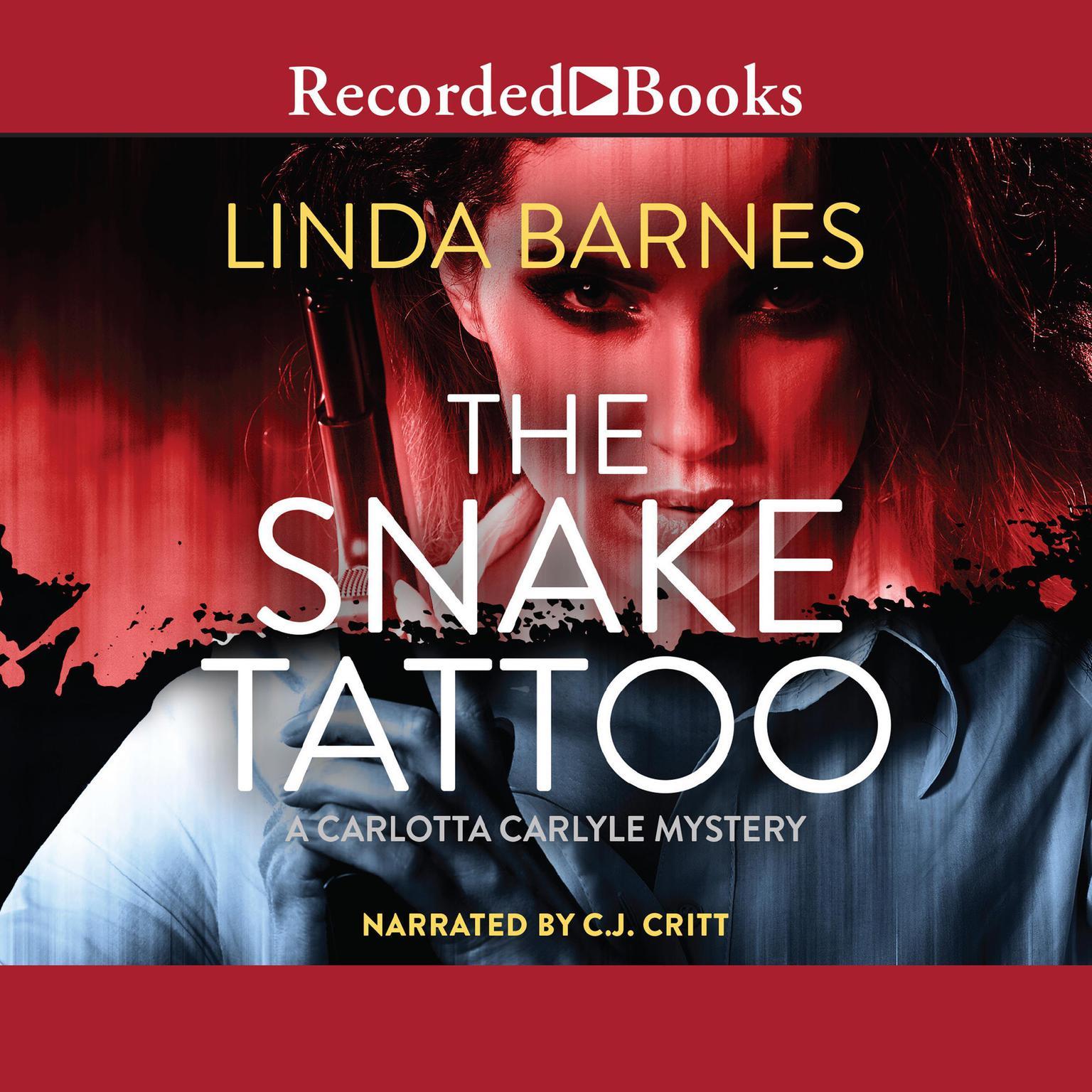 Printable The Snake Tattoo Audiobook Cover Art