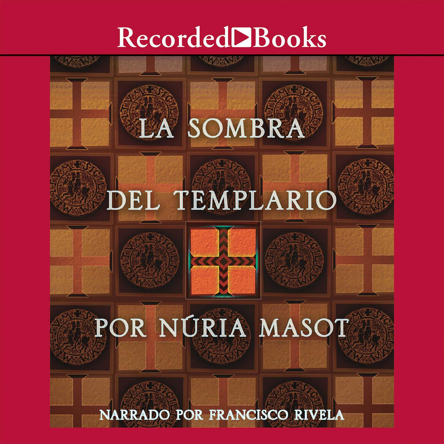 Printable La Sombra del Templario Audiobook Cover Art