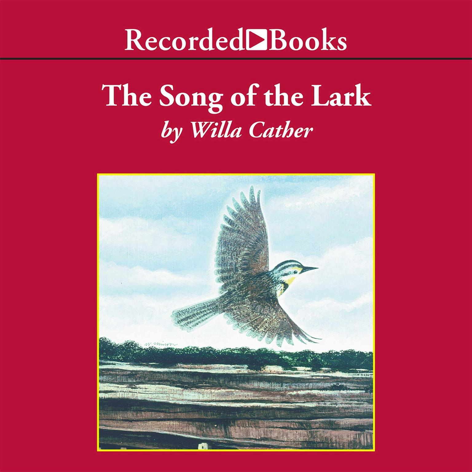 Printable The Song of the Lark Audiobook Cover Art