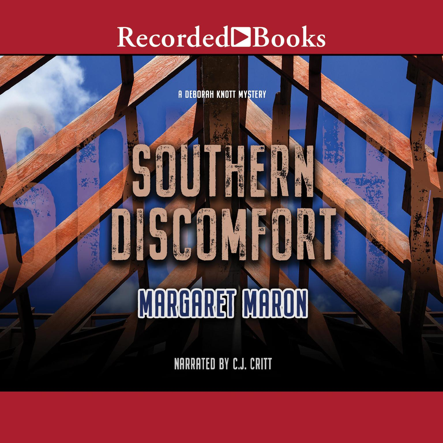 Printable Southern Discomfort Audiobook Cover Art