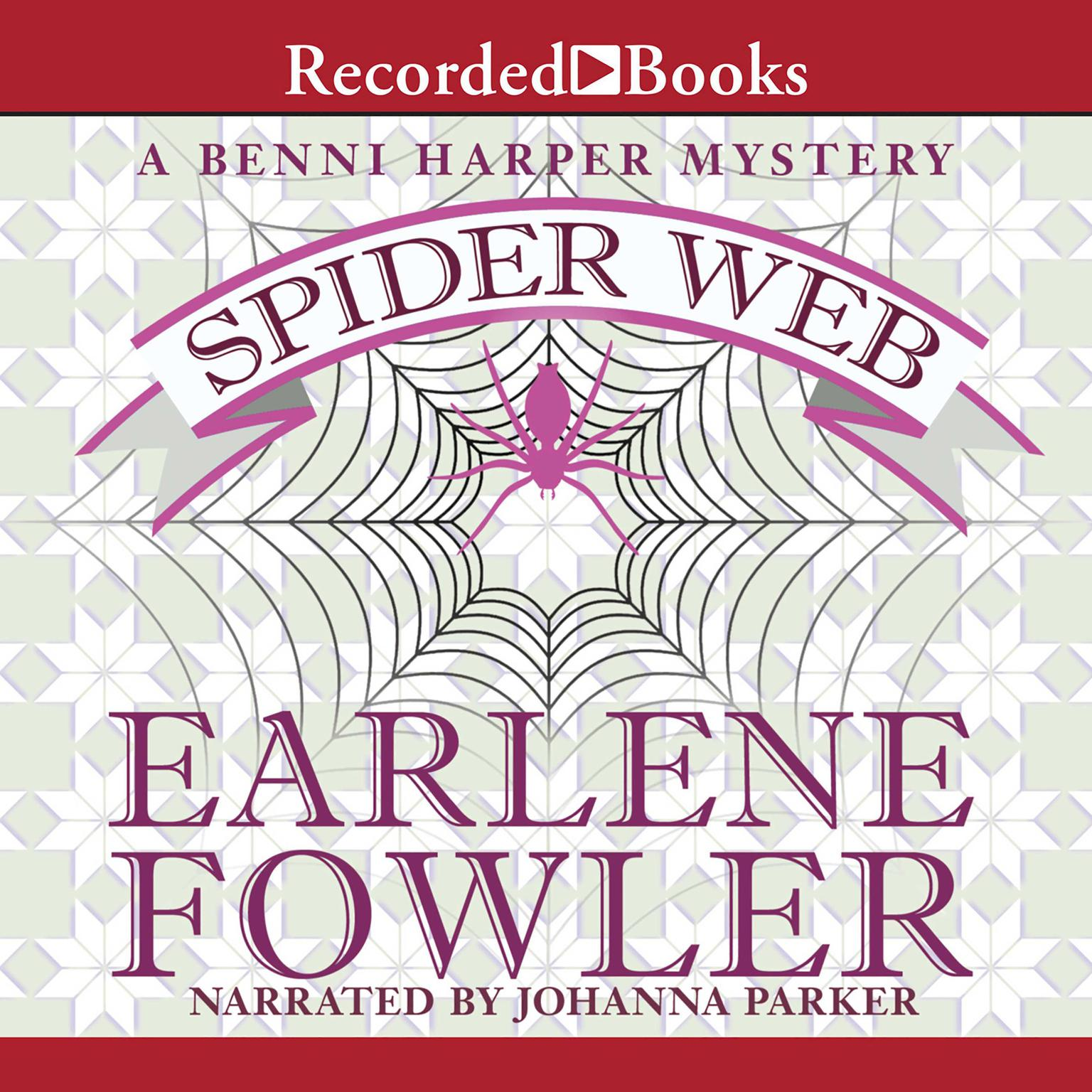 Printable Spider Web Audiobook Cover Art