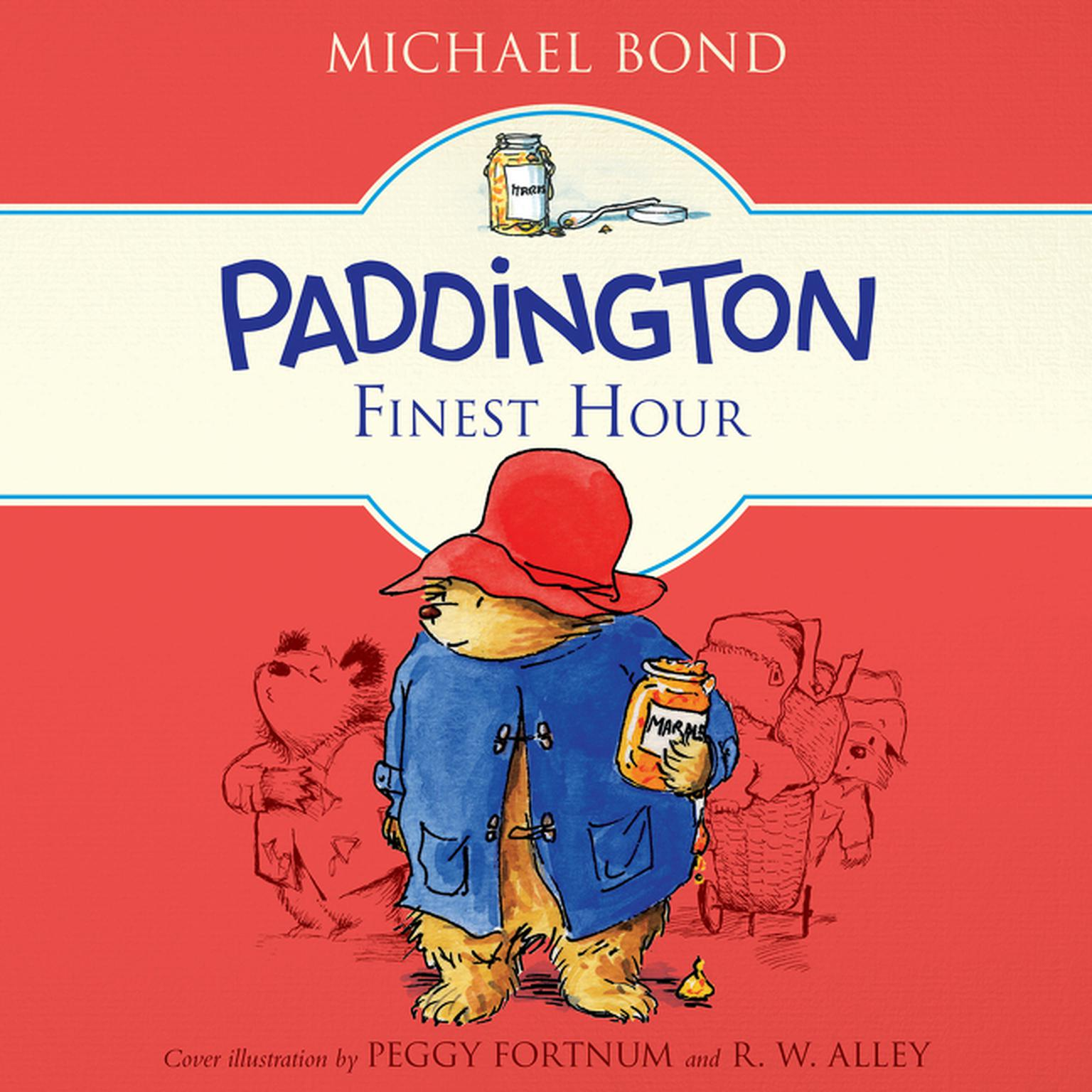Printable Paddington's Finest Hour Audiobook Cover Art