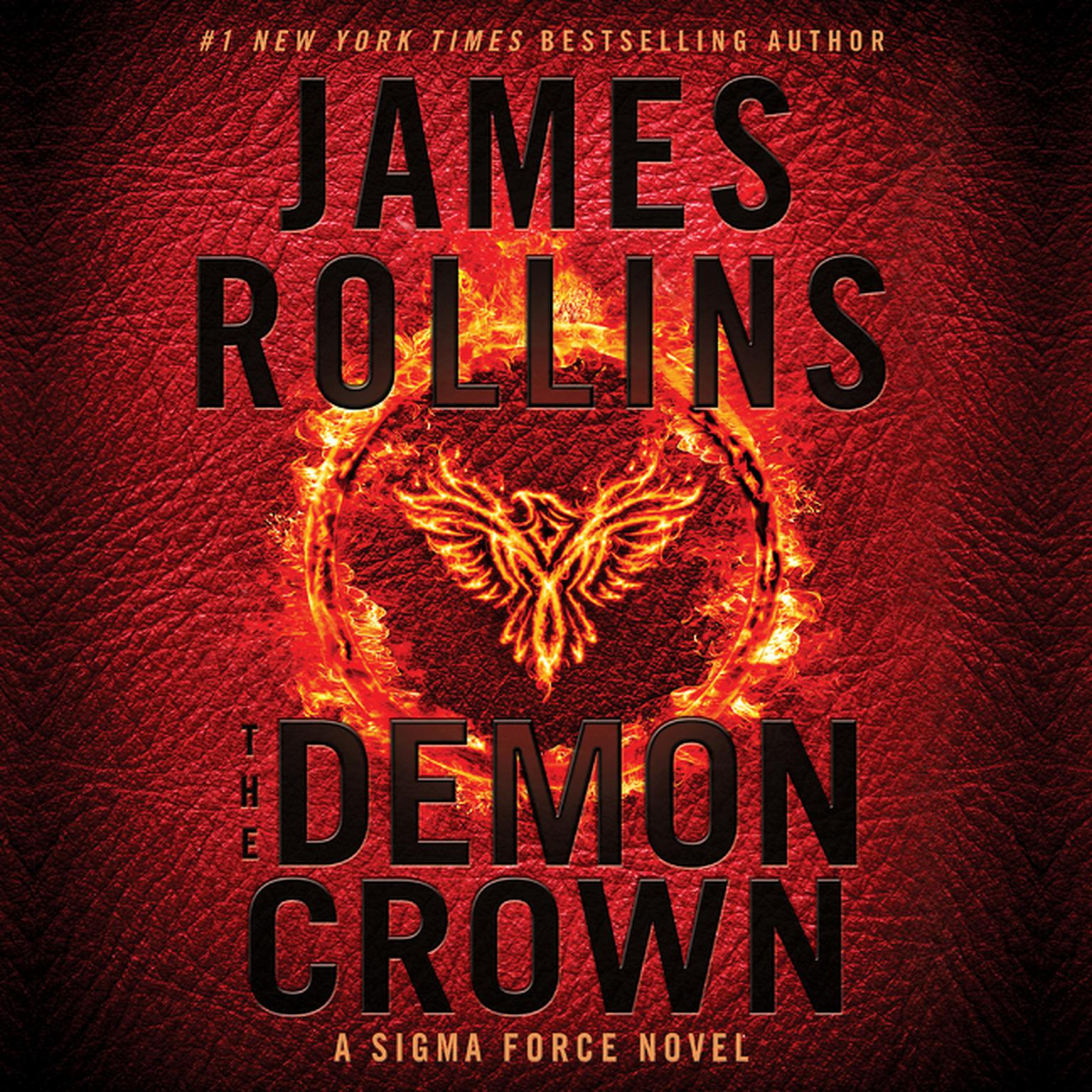 Printable The Demon Crown: A Sigma Force Novel Audiobook Cover Art