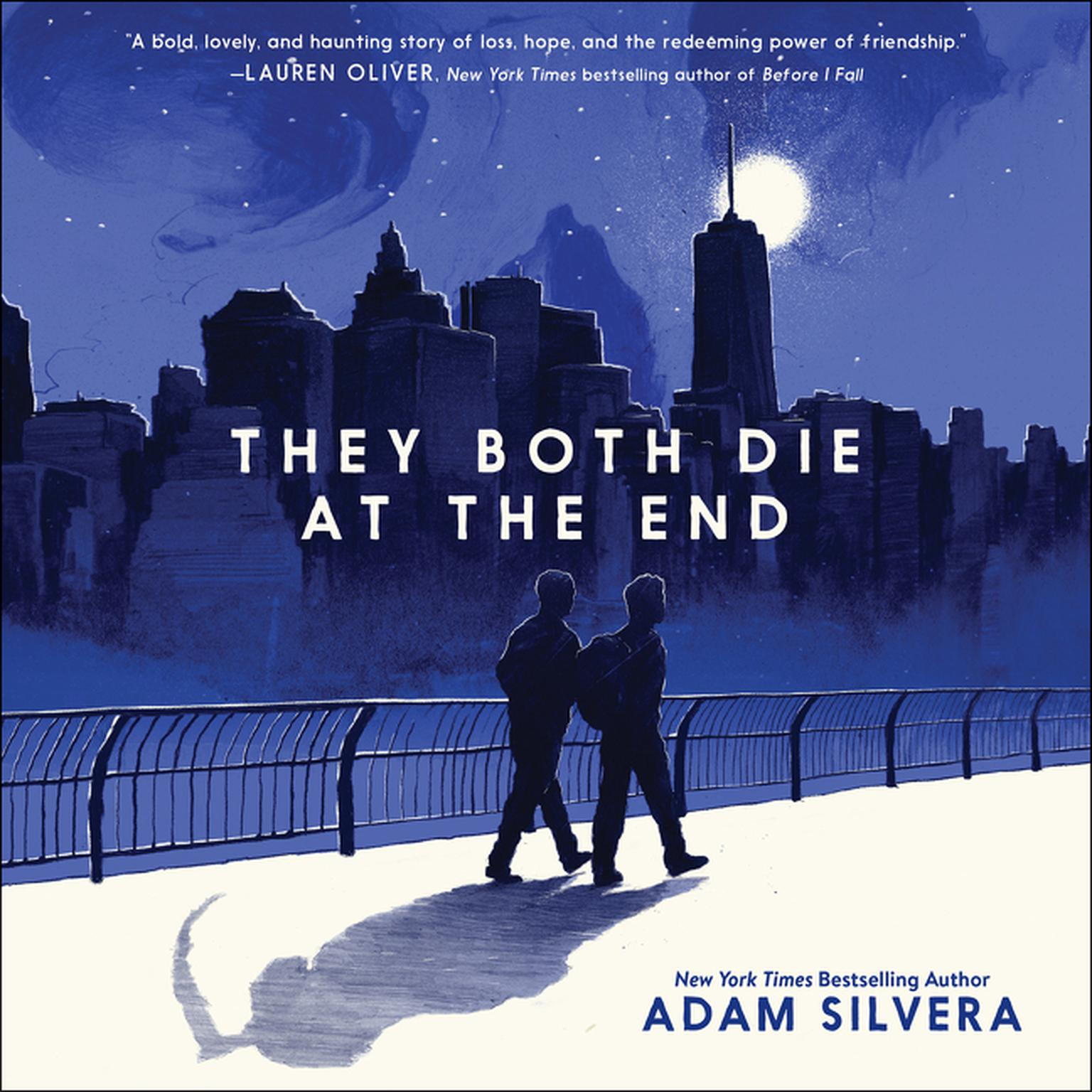 Printable They Both Die at the End Audiobook Cover Art