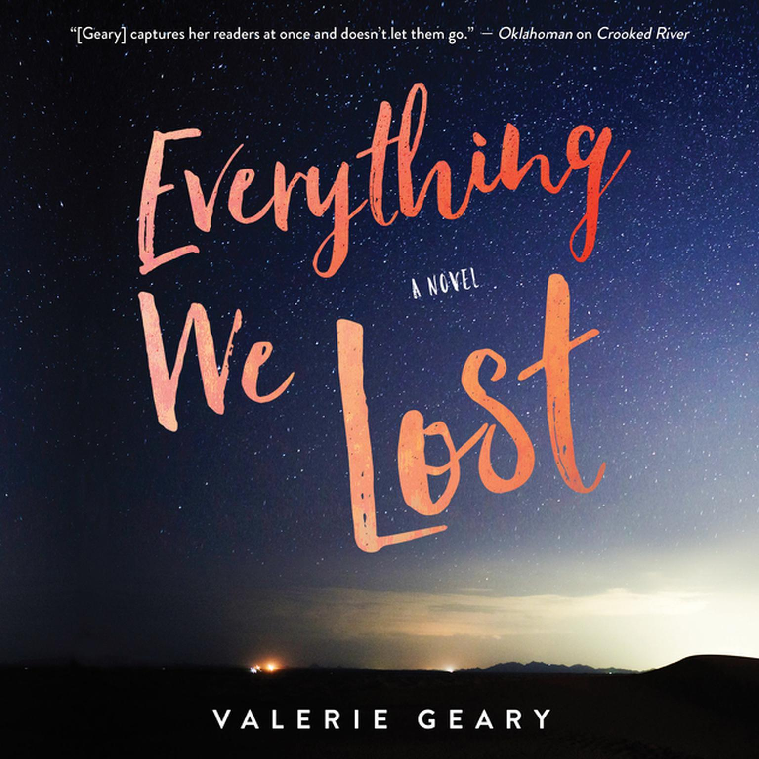 Printable Everything We Lost: A Novel Audiobook Cover Art