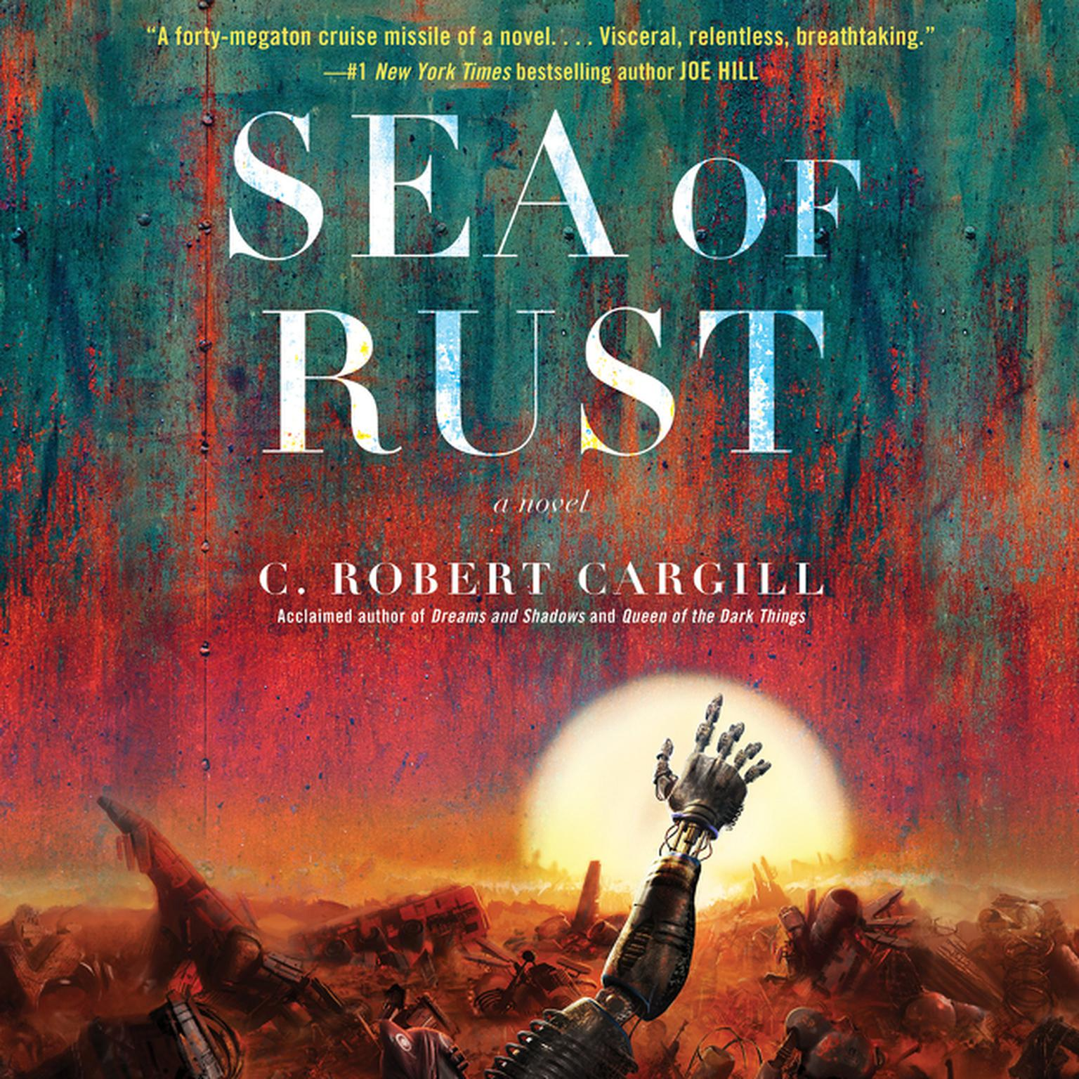 Printable Sea of Rust: A Novel Audiobook Cover Art
