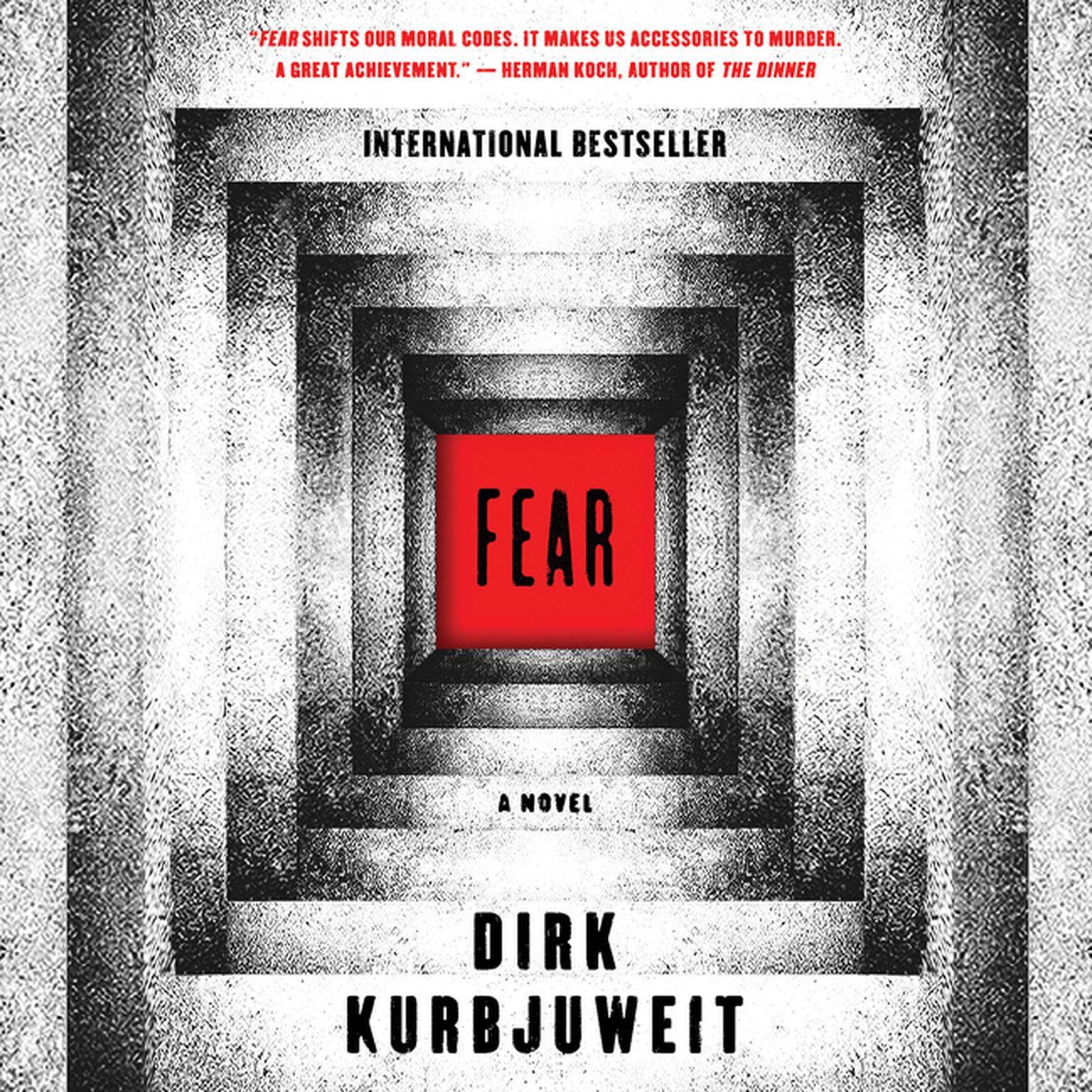 Printable Fear: A Novel Audiobook Cover Art