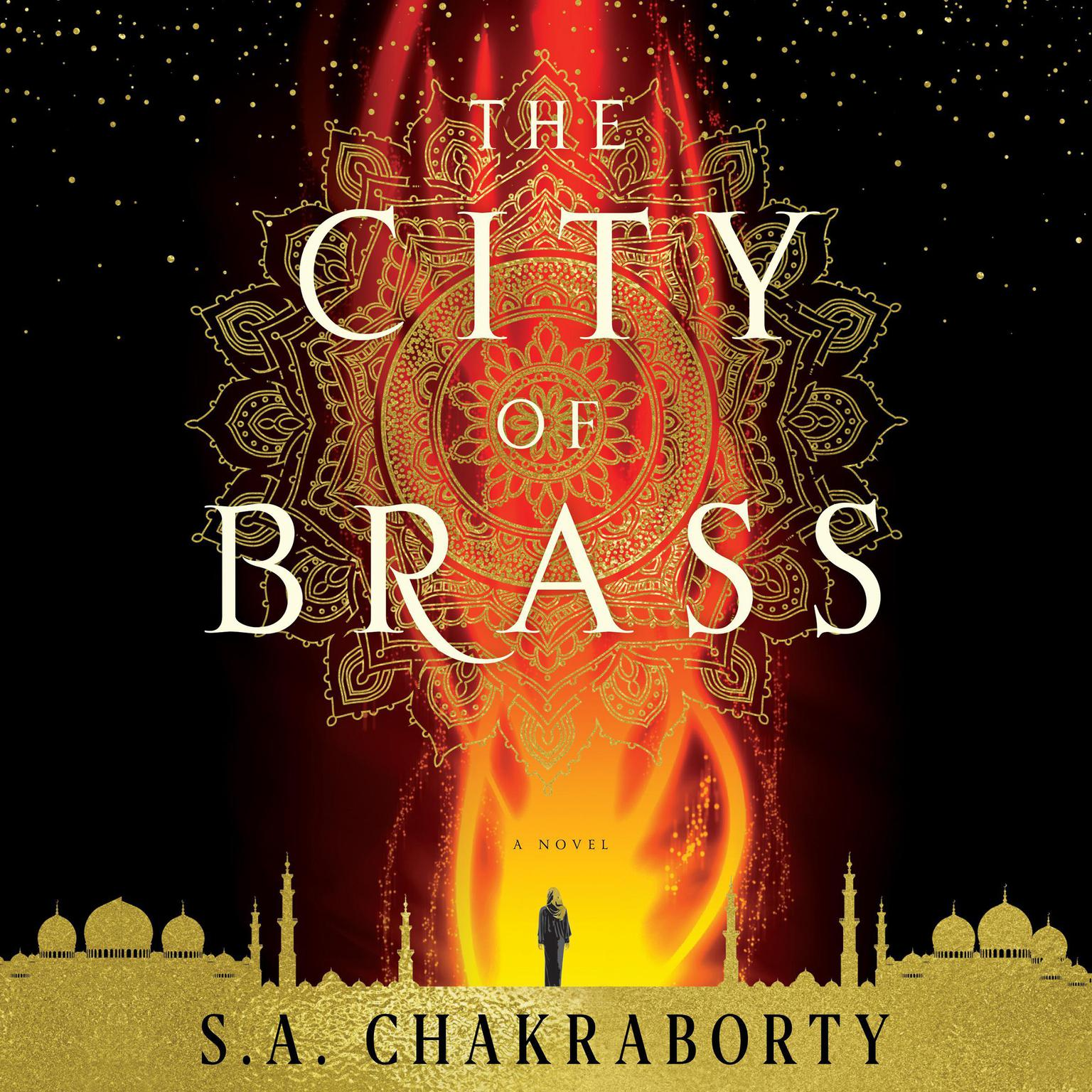 Printable The City of Brass: A Novel Audiobook Cover Art