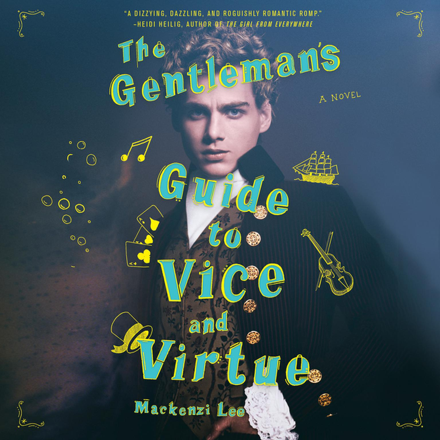 The Gentleman's Guide to Vice and Virtue audiobook cover
