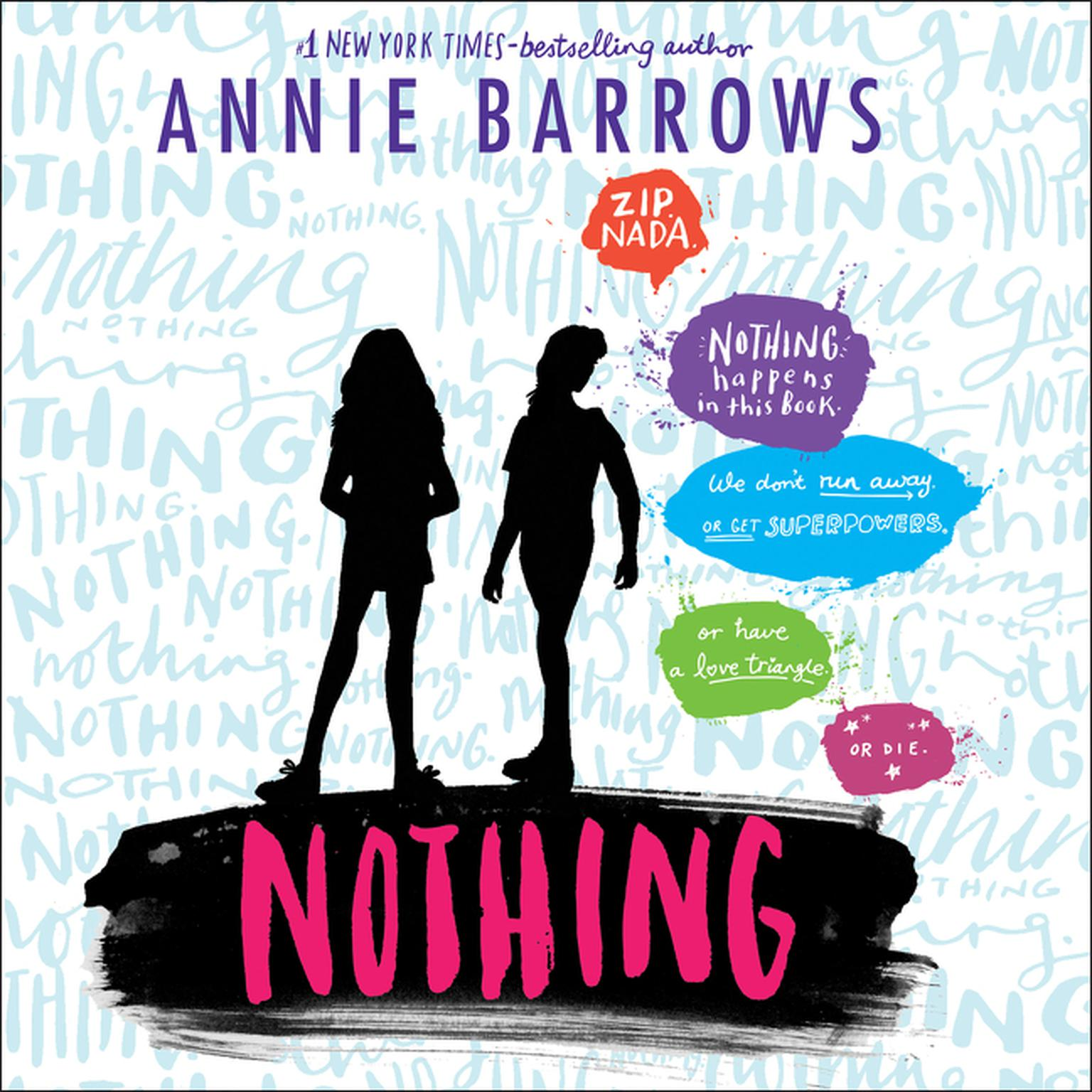 Printable Nothing Audiobook Cover Art