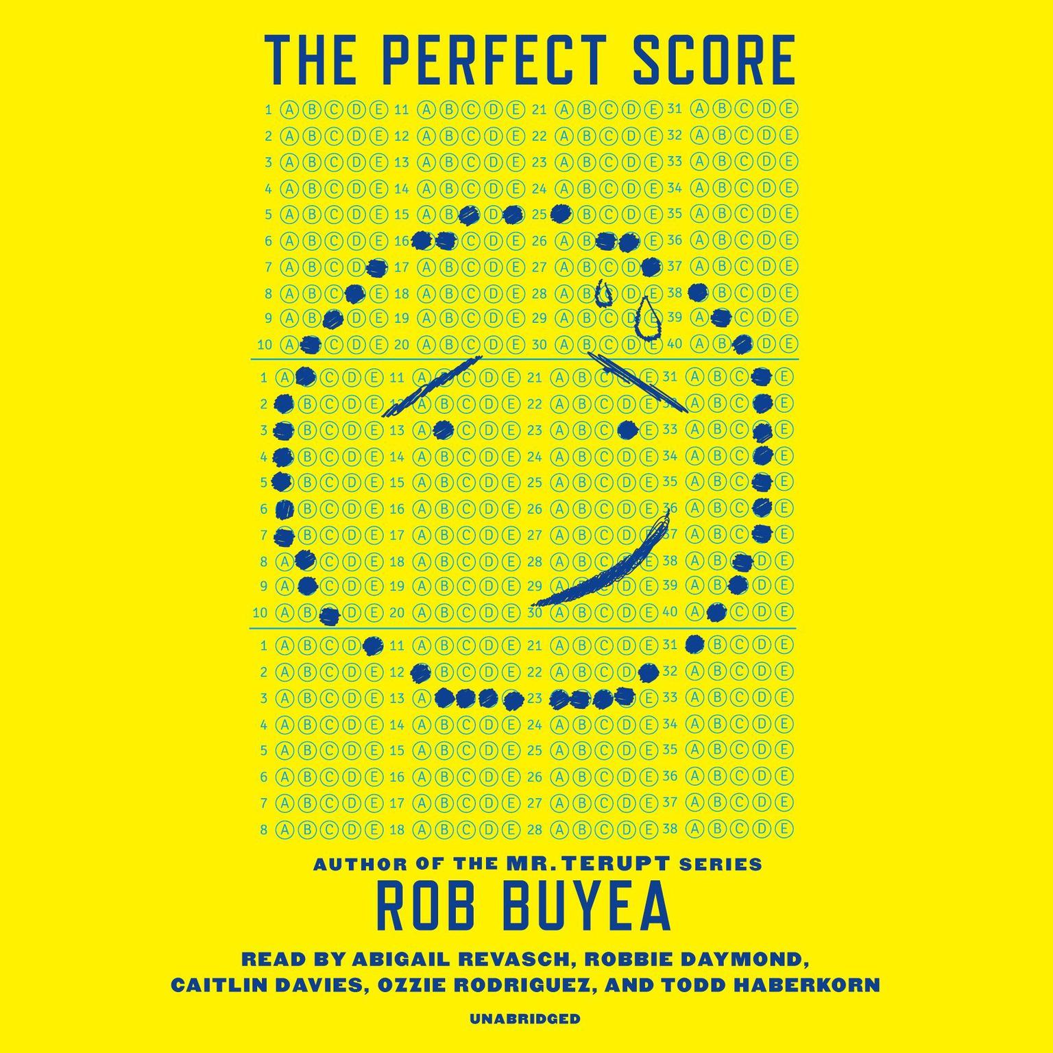 Printable The Perfect Score Audiobook Cover Art