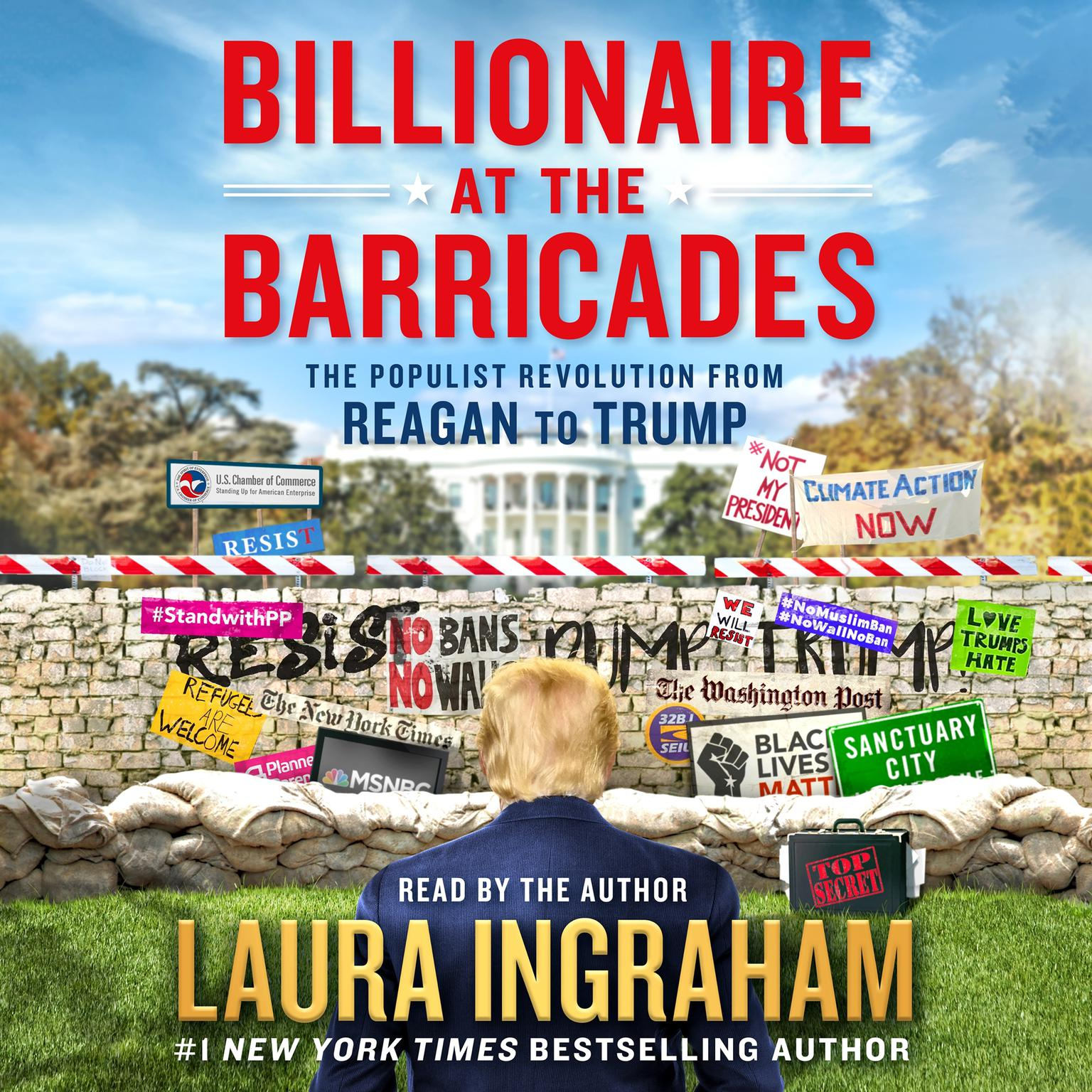 Printable Billionaire at the Barricades: The Populist Revolution from Reagan to Trump Audiobook Cover Art
