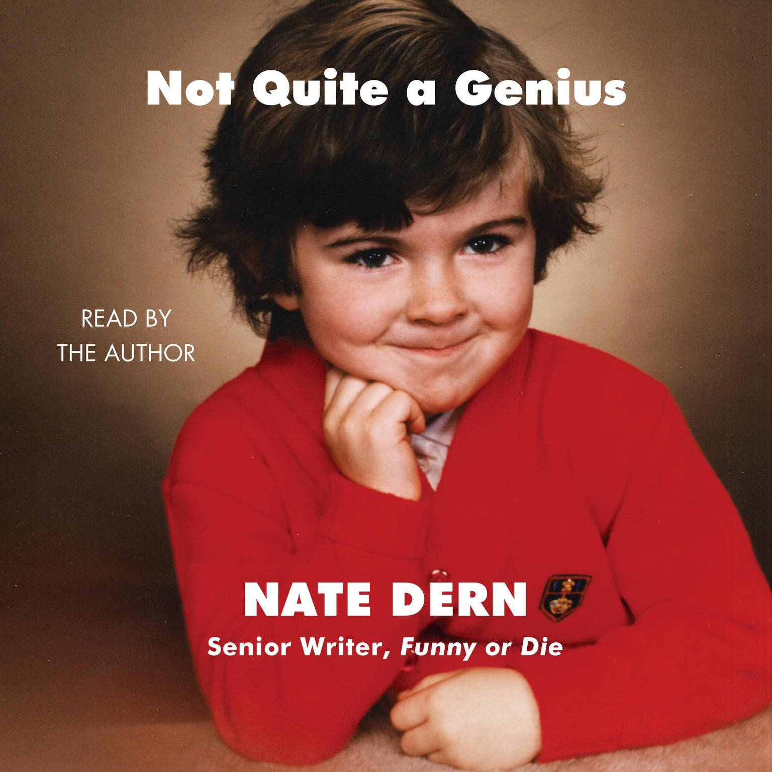 Printable Not Quite a Genius Audiobook Cover Art