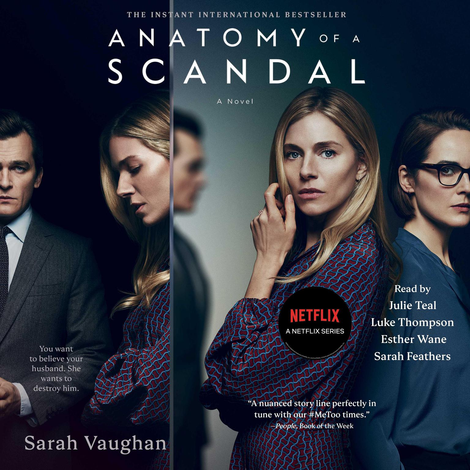 Printable Anatomy of a Scandal: A Novel Audiobook Cover Art
