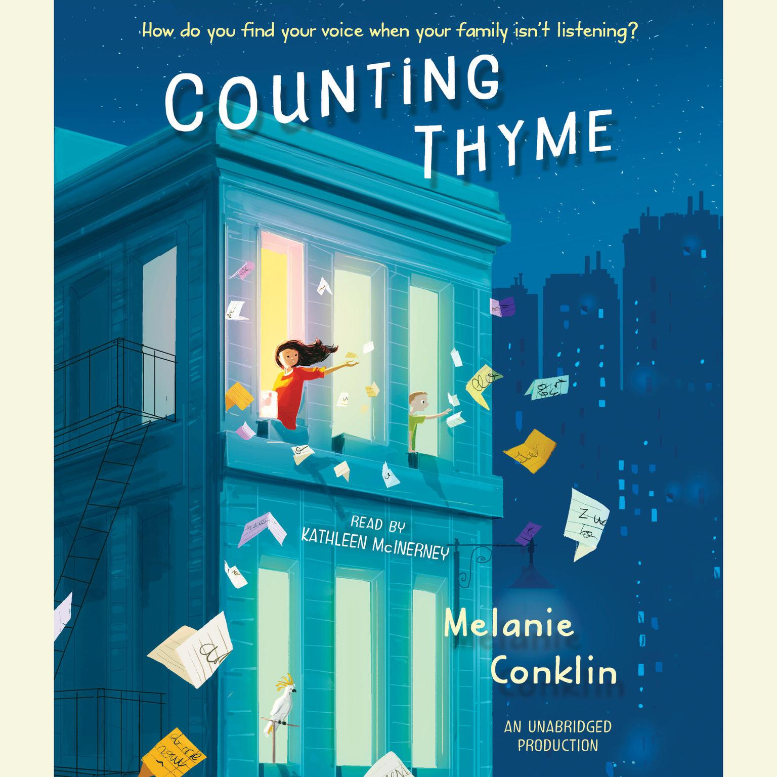 Printable Counting Thyme Audiobook Cover Art